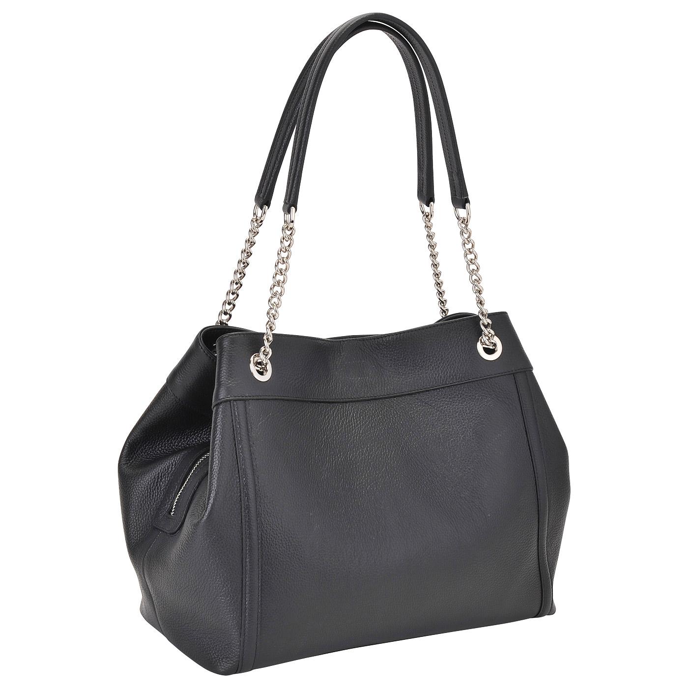 54f276eee87f Женская кожаная сумка Aurelli 16W0045-24S-nero - 2000557678057 ...