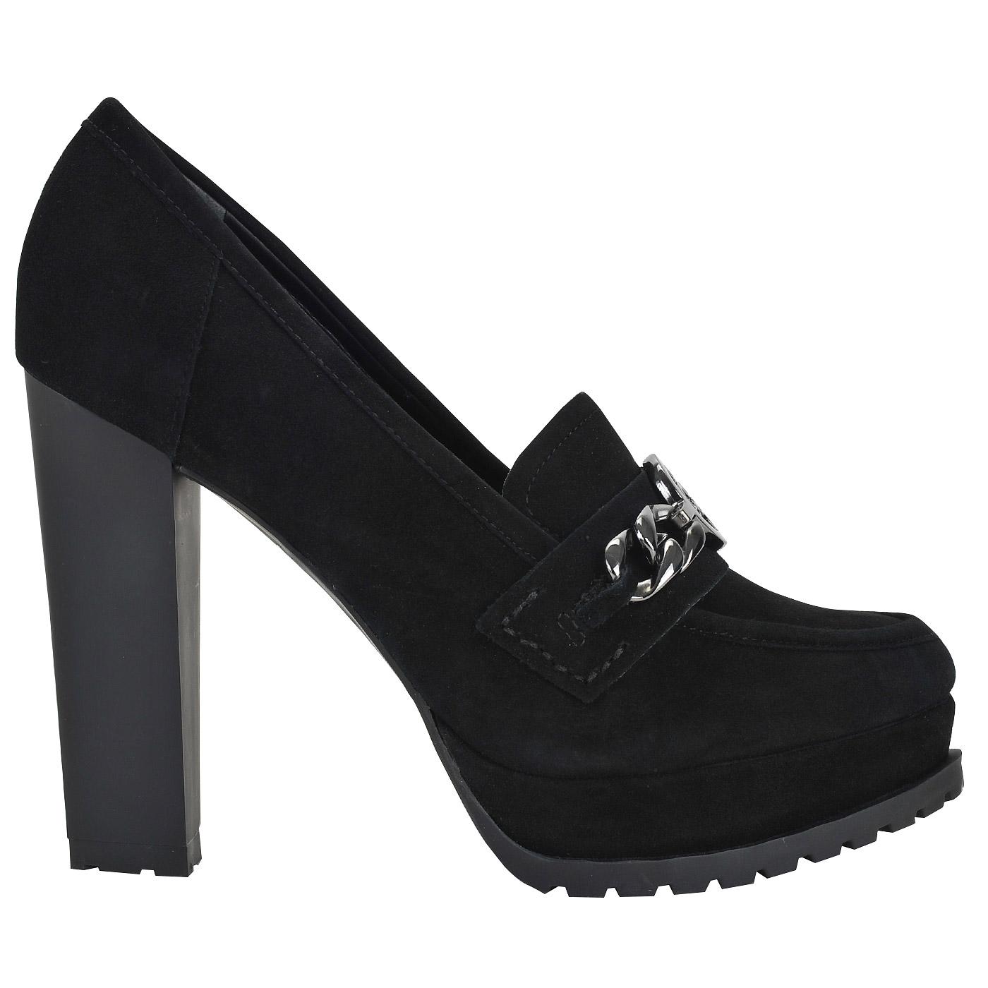 130f378f2 Женские замшевые туфли на устойчивом каблуке Guess Rinnie FLRNN3 ...
