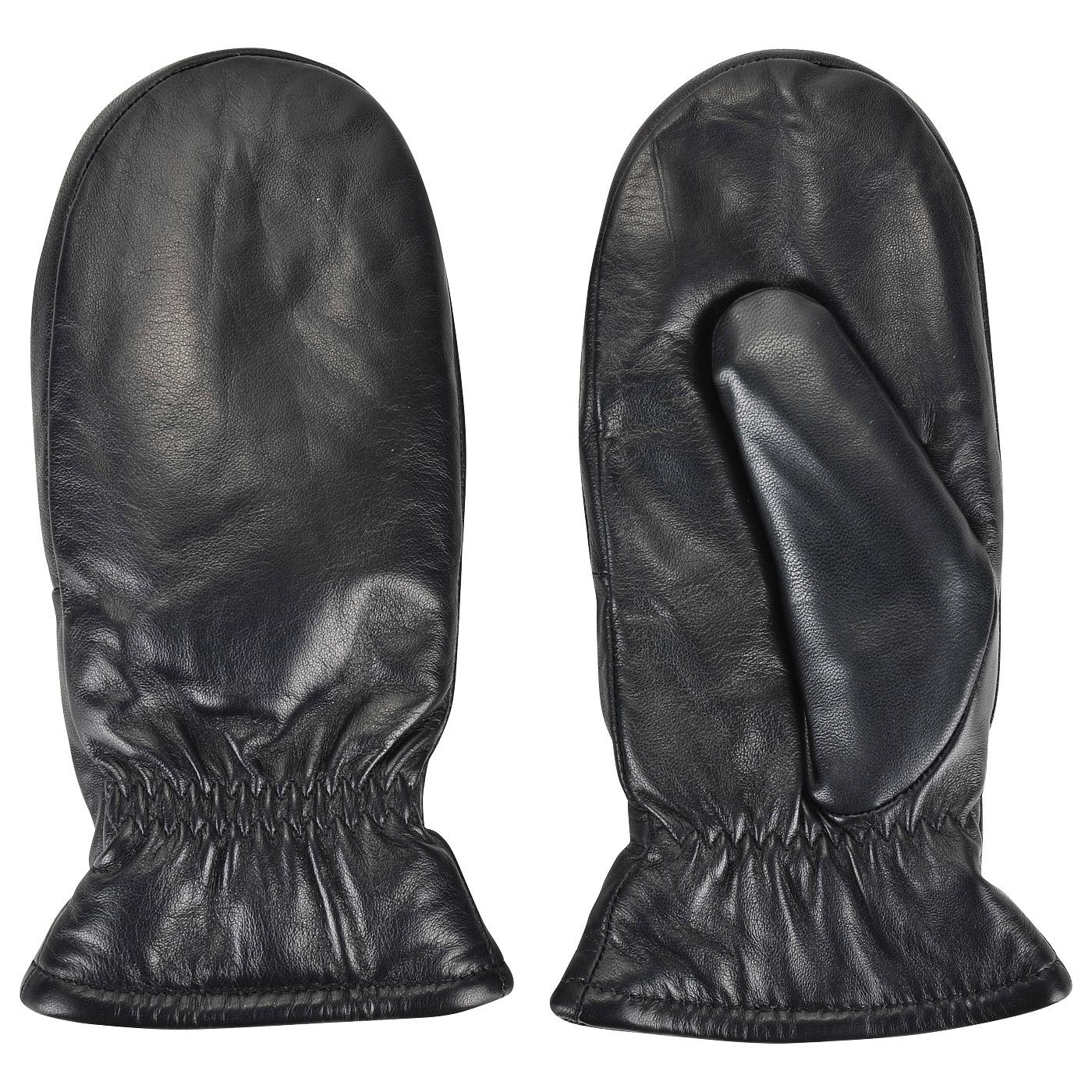 купить кожаные варежки на меху