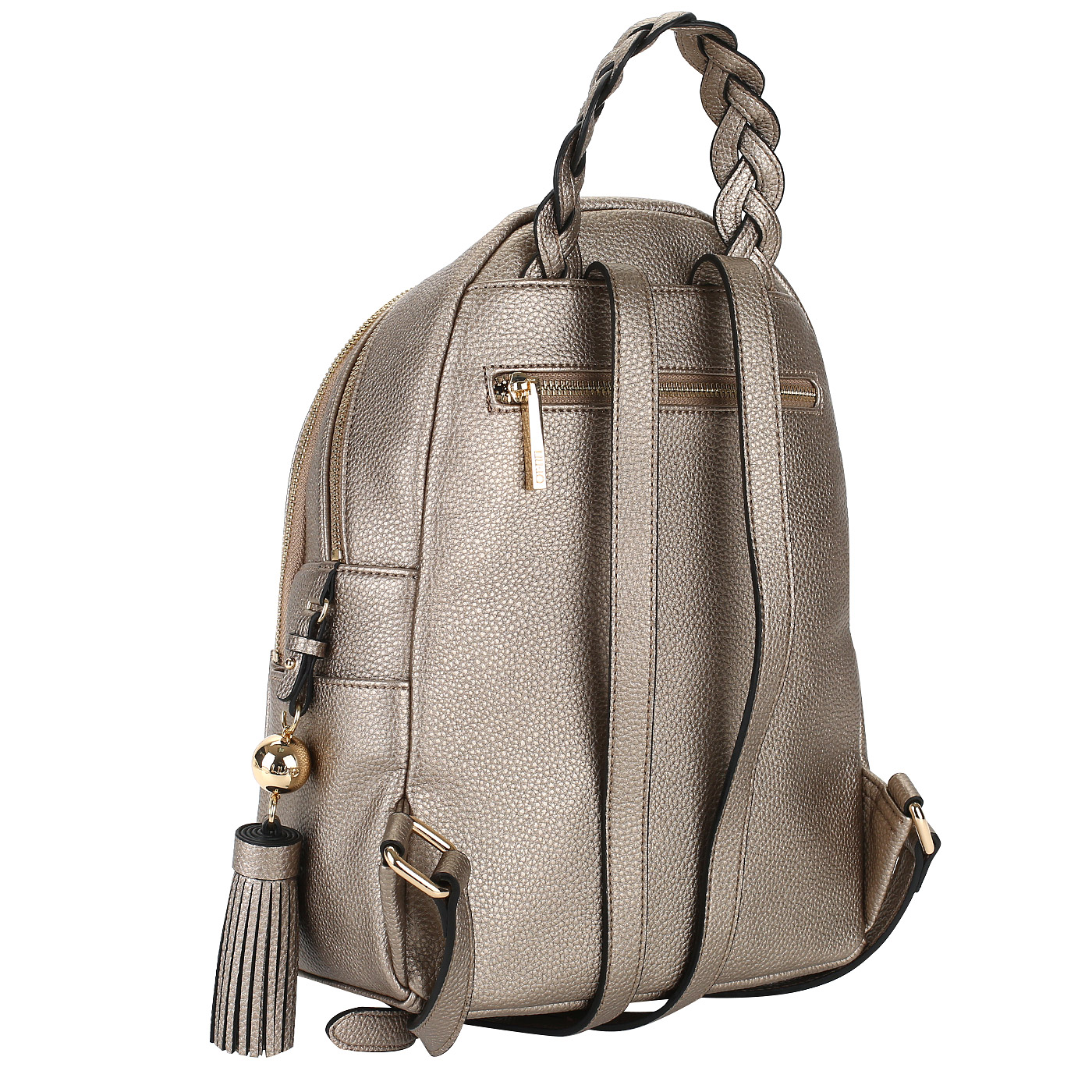 c37e76fdaf46 Женский металлизированный рюкзак Liu Jo Arizona A18052E0086_gold ...