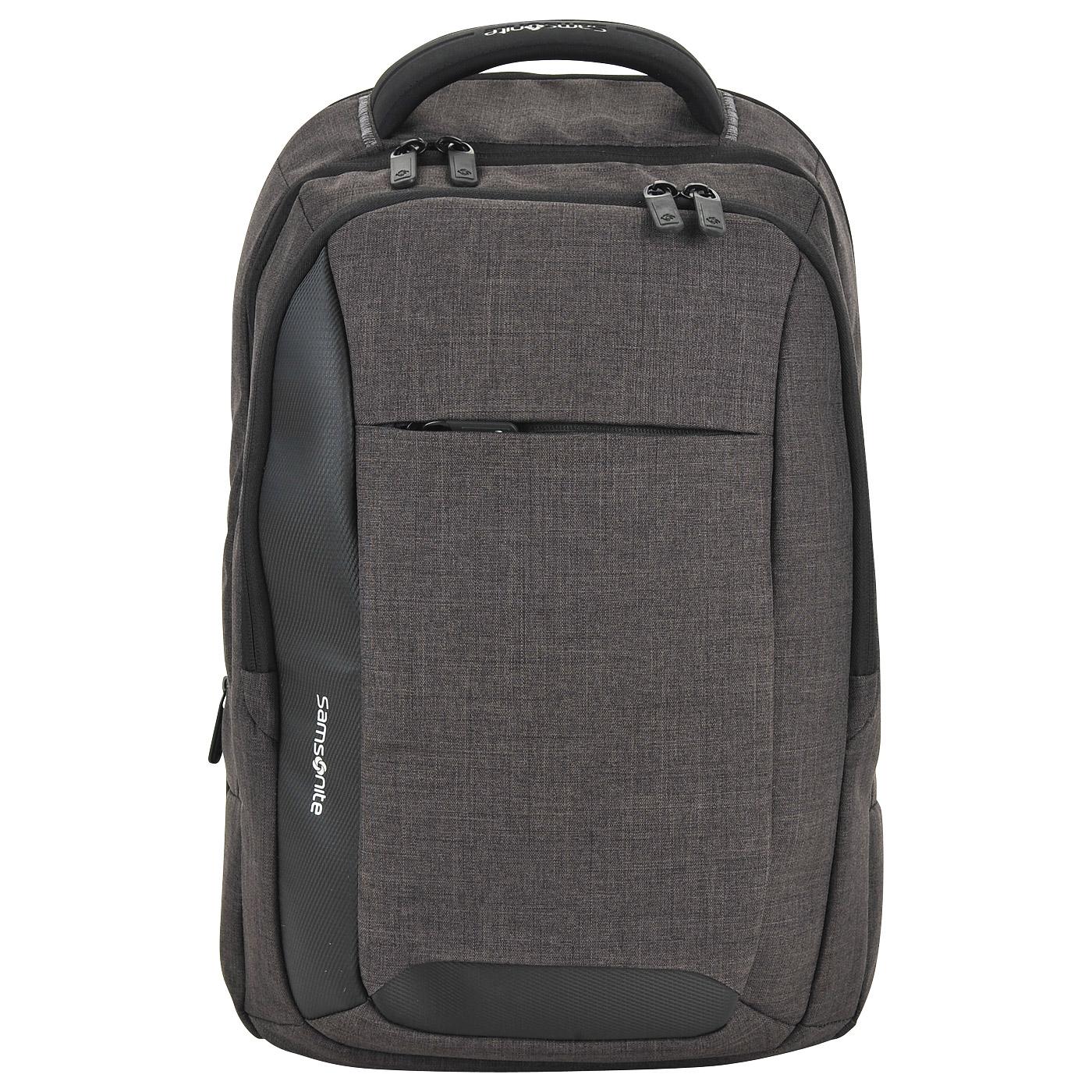 Тканевый рюкзак Samsonite Ikonn 31R48002 - 2000557758902 серый ... 90788c4fc24