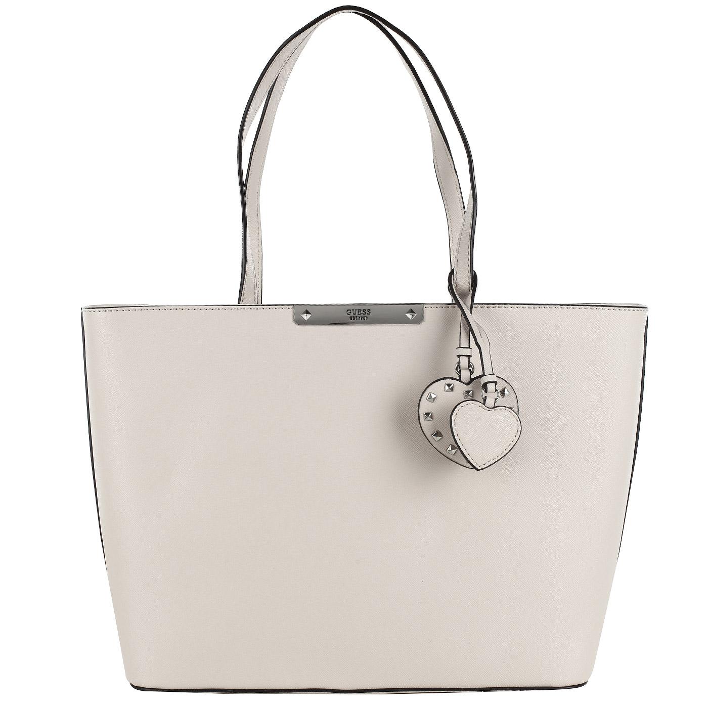 6b093d9bd921 Вместительная женская сумка с длинными ручками Guess Britta HWVY66 ...
