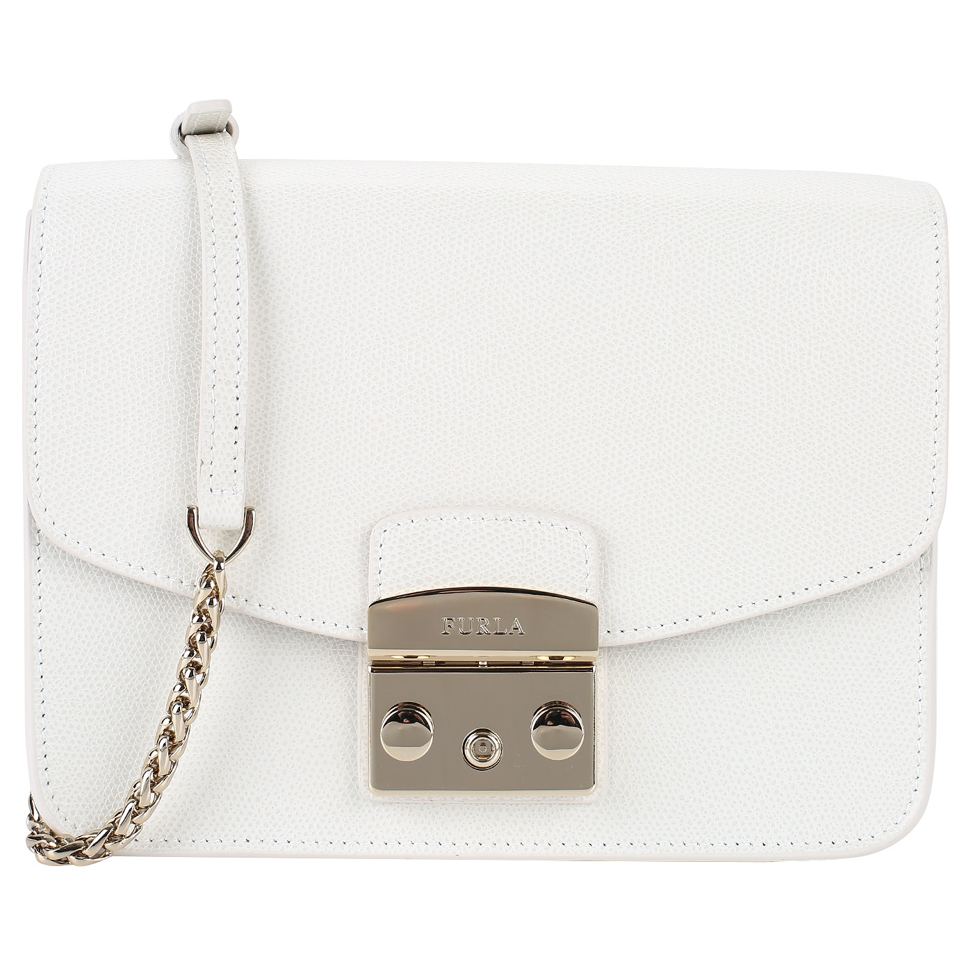 78fb89e7ada5 Женская белая сумочка Furla Metropolis BNF8_petalo - 2000557845237 ...
