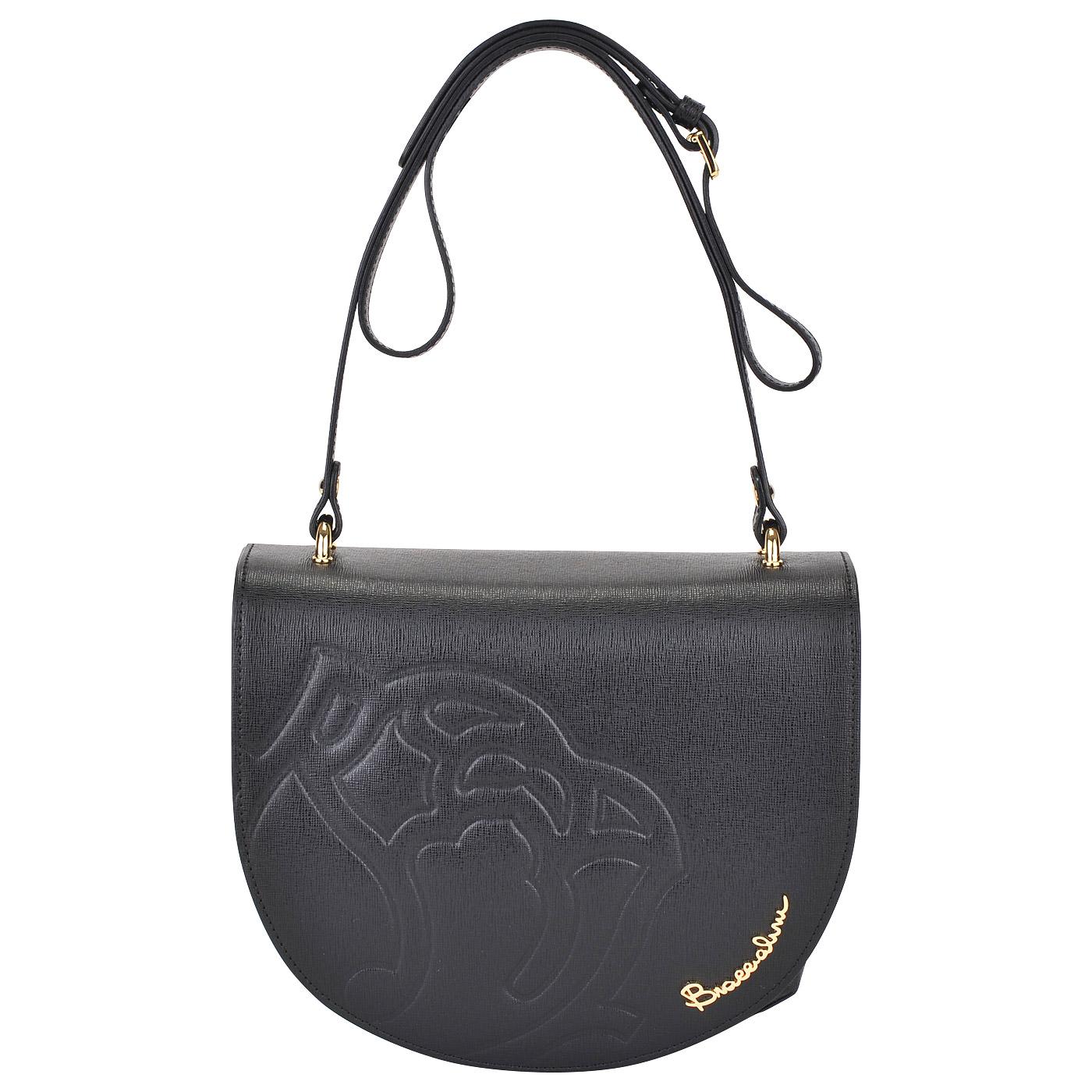 454572814e93 Женская кожаная сумка через плечо Braccialini Ninfea Женская кожаная сумка  через плечо Braccialini Ninfea ...