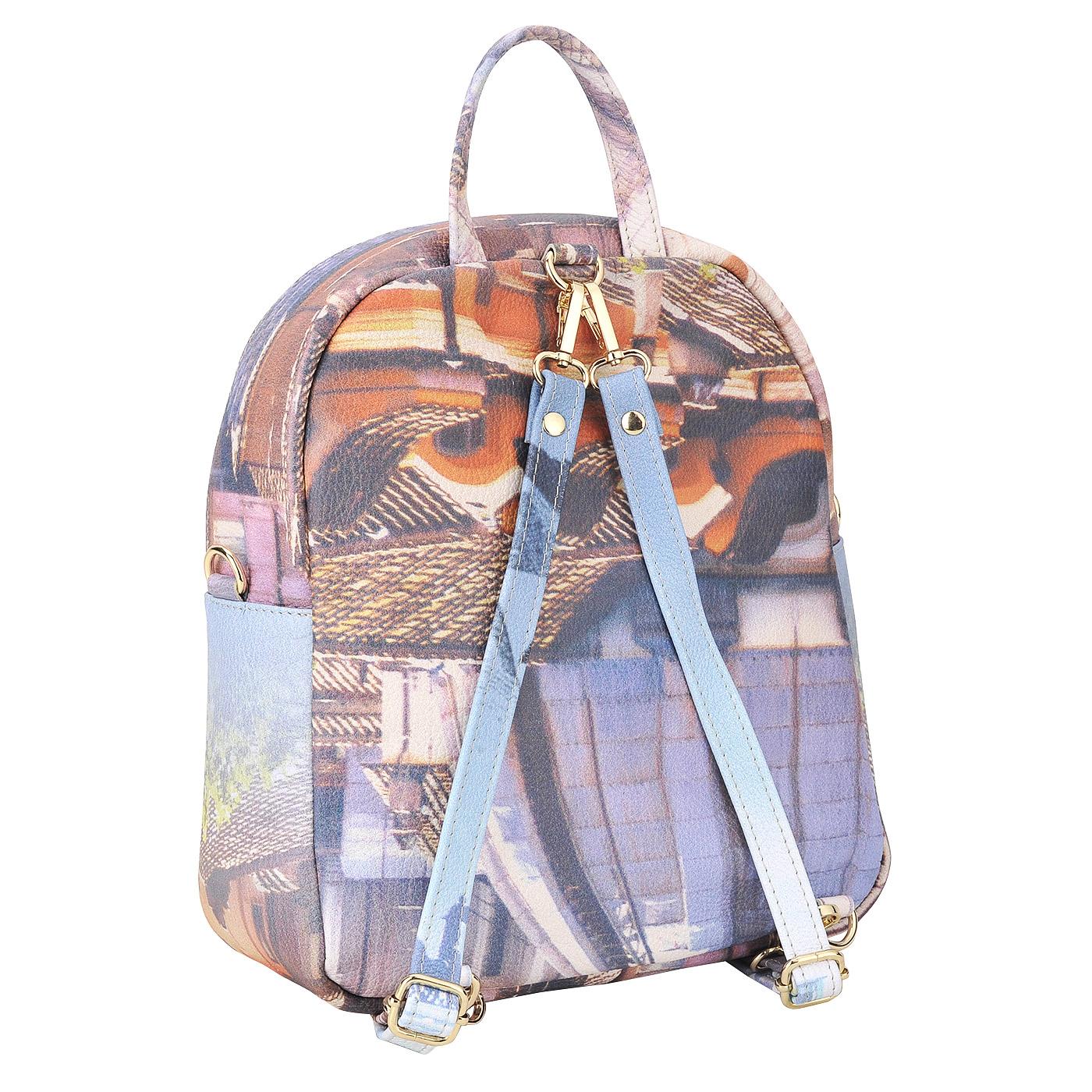 24803d90f922 Женский кожаный рюкзак Acquanegra Rome 705 M146B - 2000557580589 ...