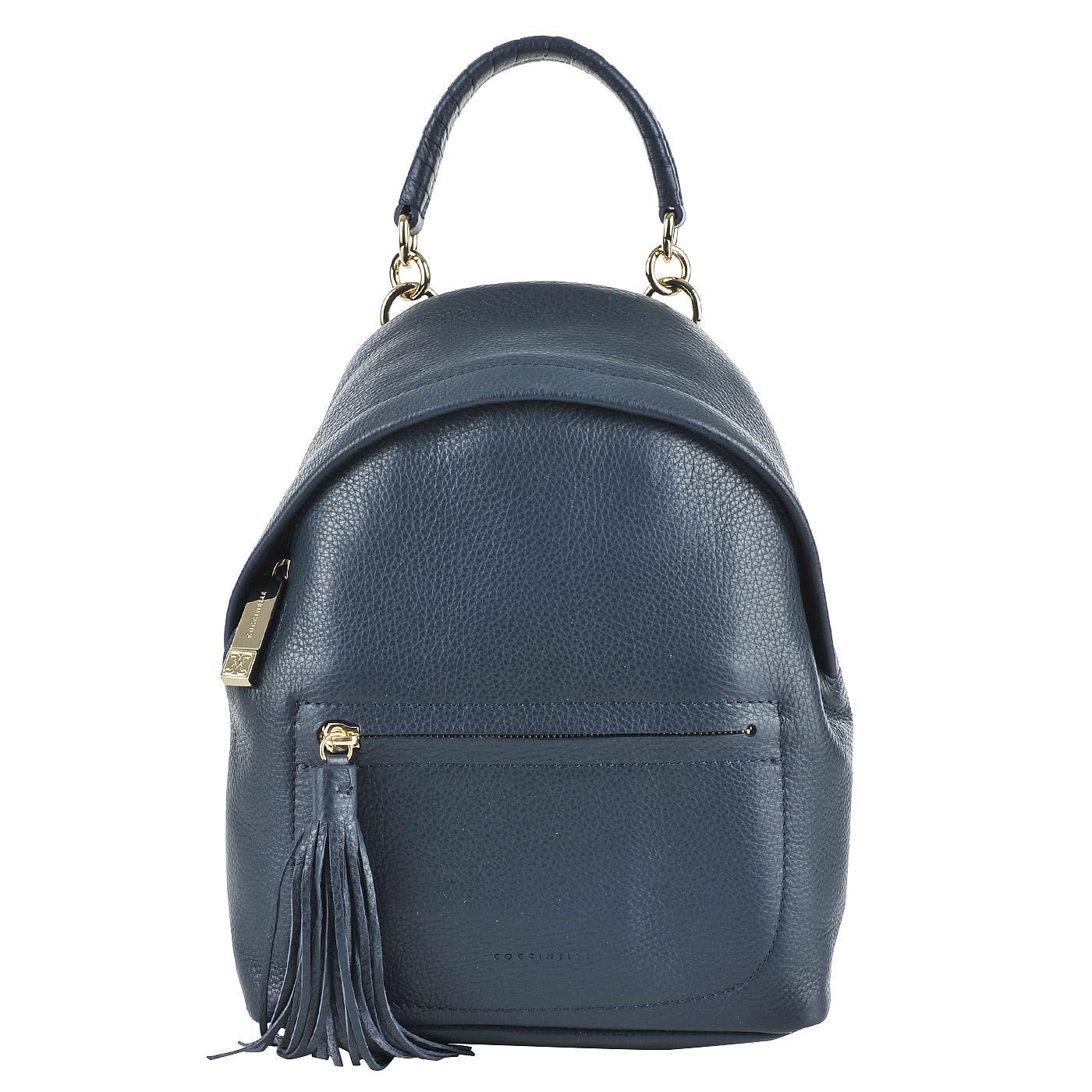69991ff67eaa Женский кожаный рюкзак Coccinelle Minibag Женский кожаный рюкзак Coccinelle  Minibag ...