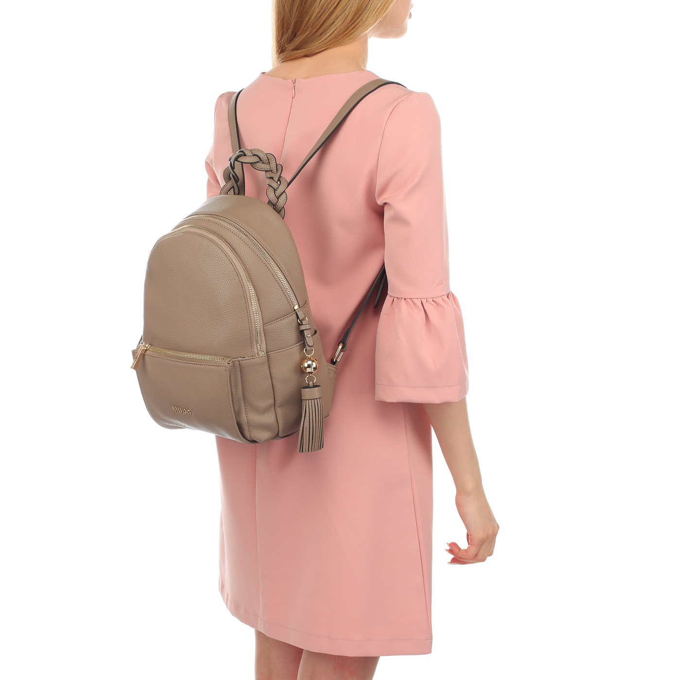 6d556c701e55 Женский рюкзак на молнии Liu Jo Arizona A18052E0086_arenaria ...