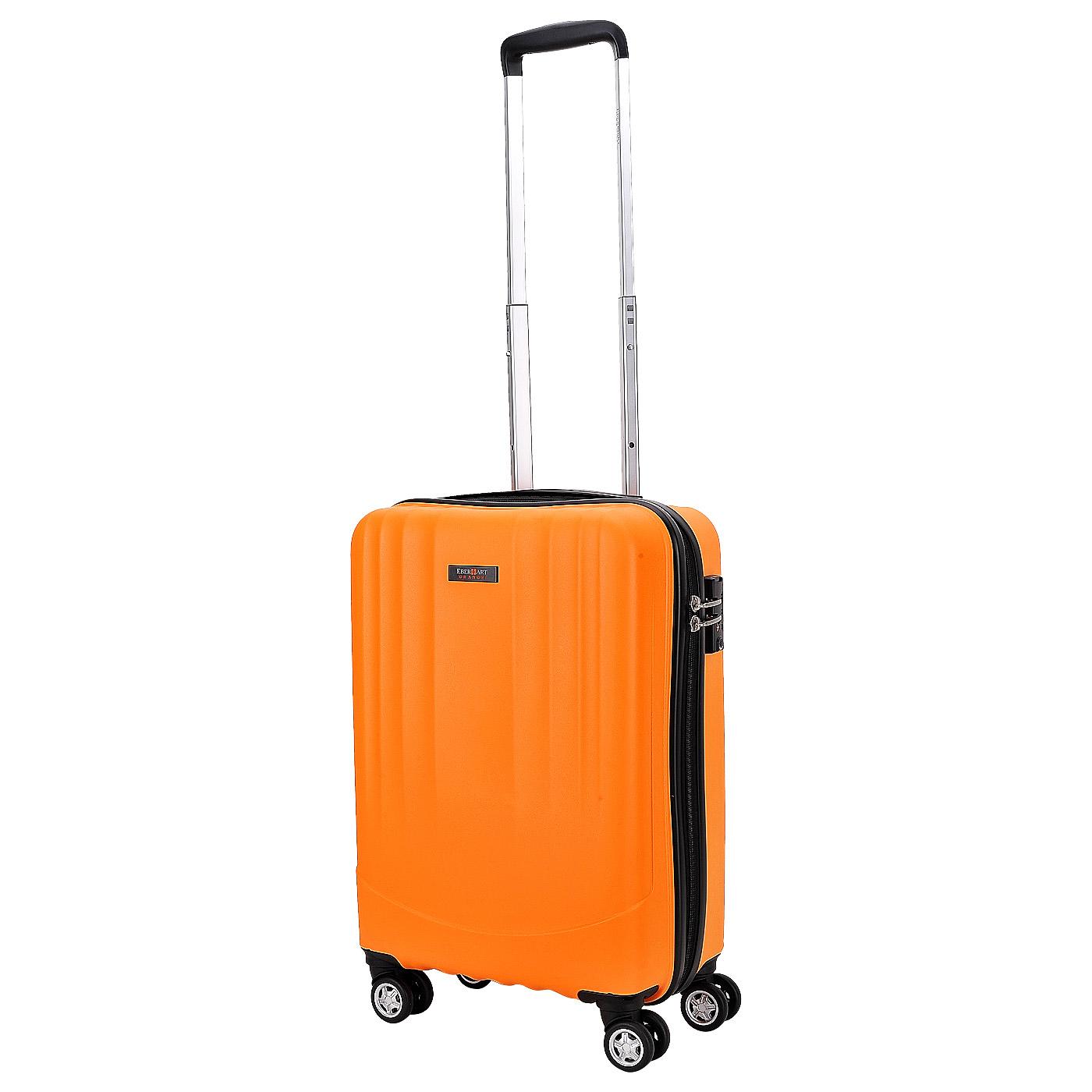 Чемодан на колесах Eberhart Orange