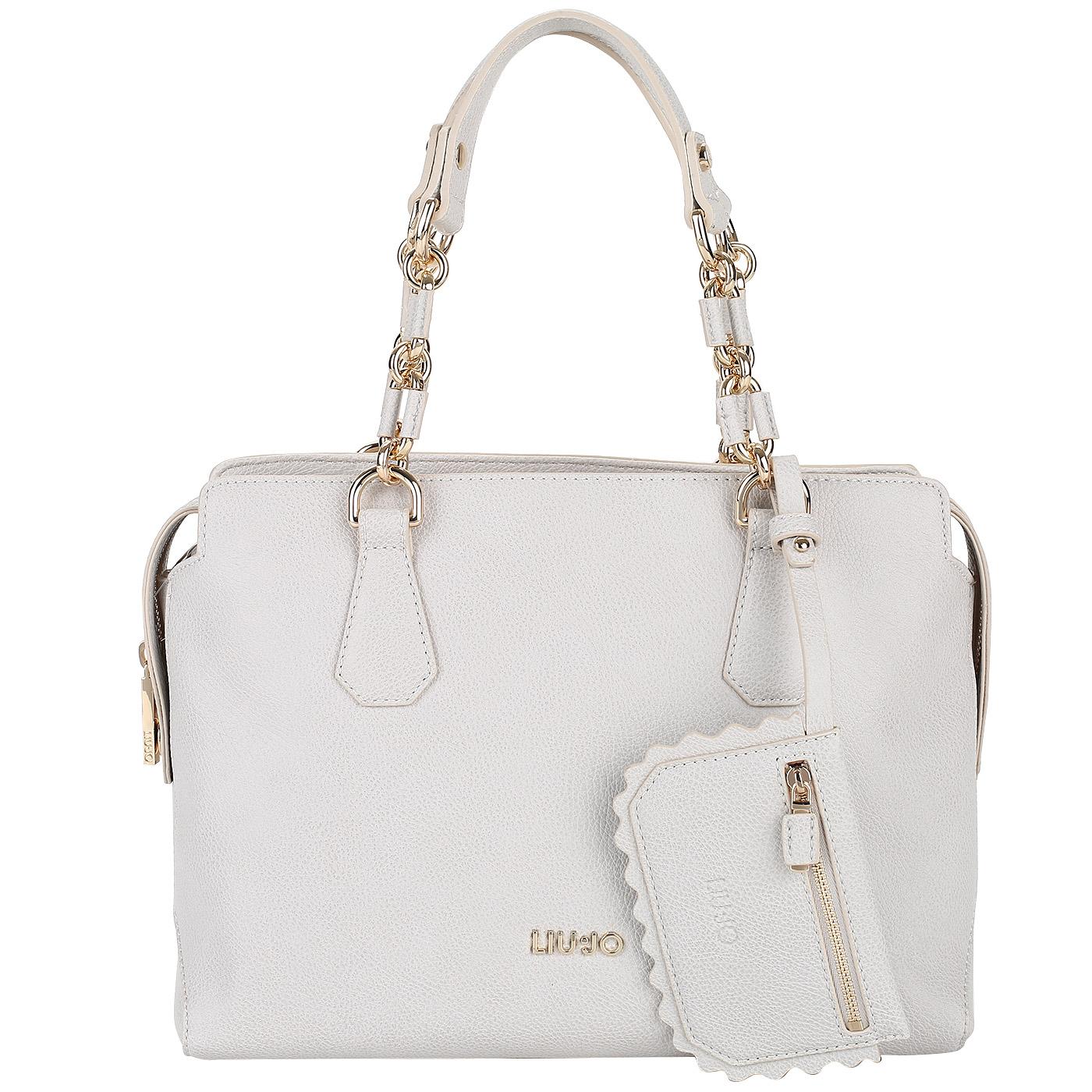 73e081f274fa Женская сумка на молнии с тремя отделами Liu Jo Detroit ...