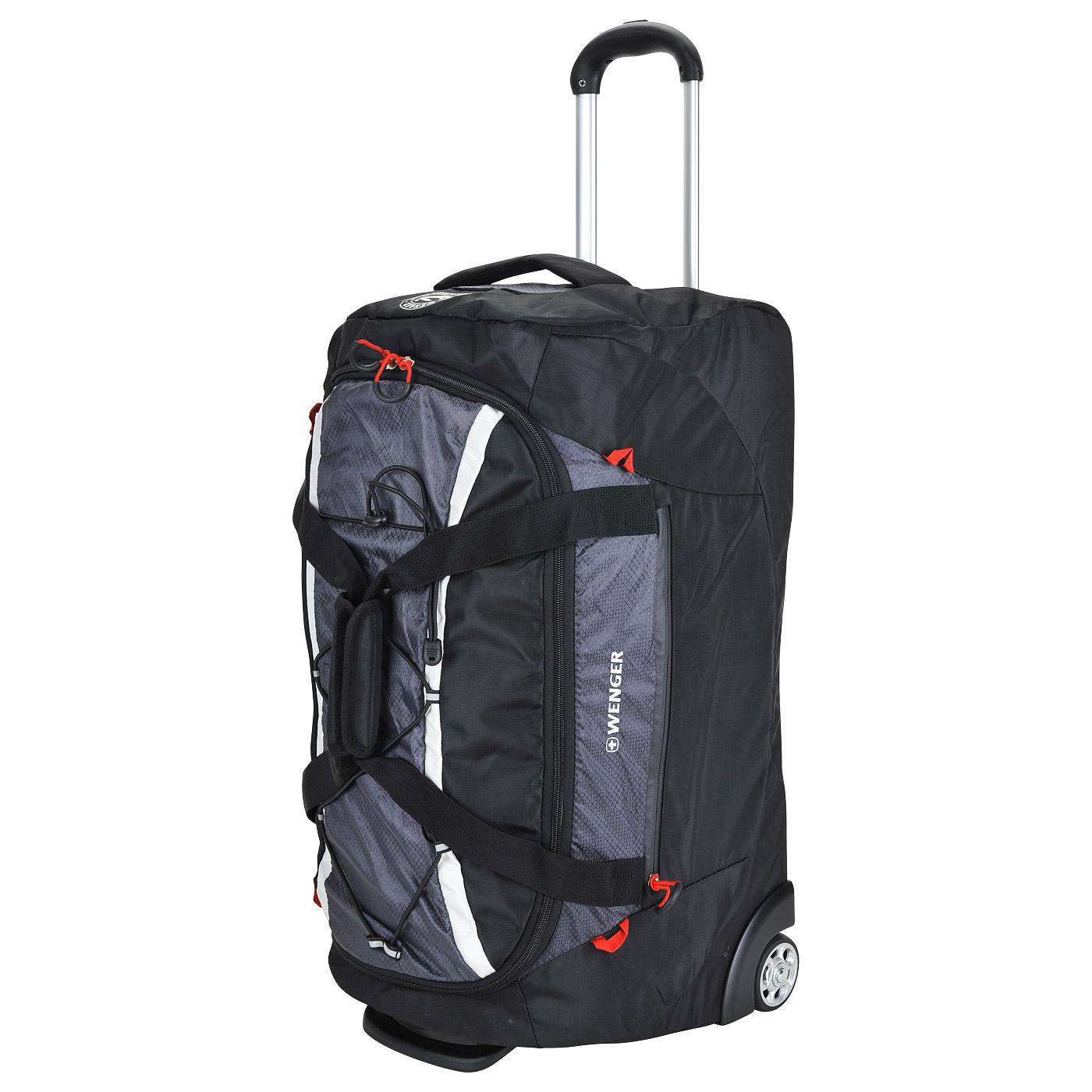 97b7c5528429 Дорожная сумка на колесах Wenger 3053204267 - 2000557756694 черный ...