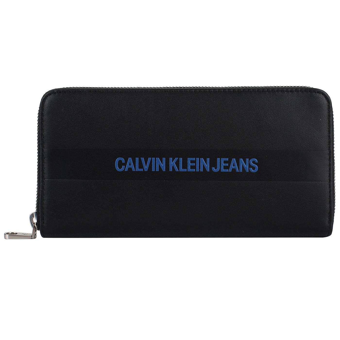 d62e81ecb403 Кожаное портмоне на молнии Calvin Klein Jeans Pre Fall K40K400404 ...