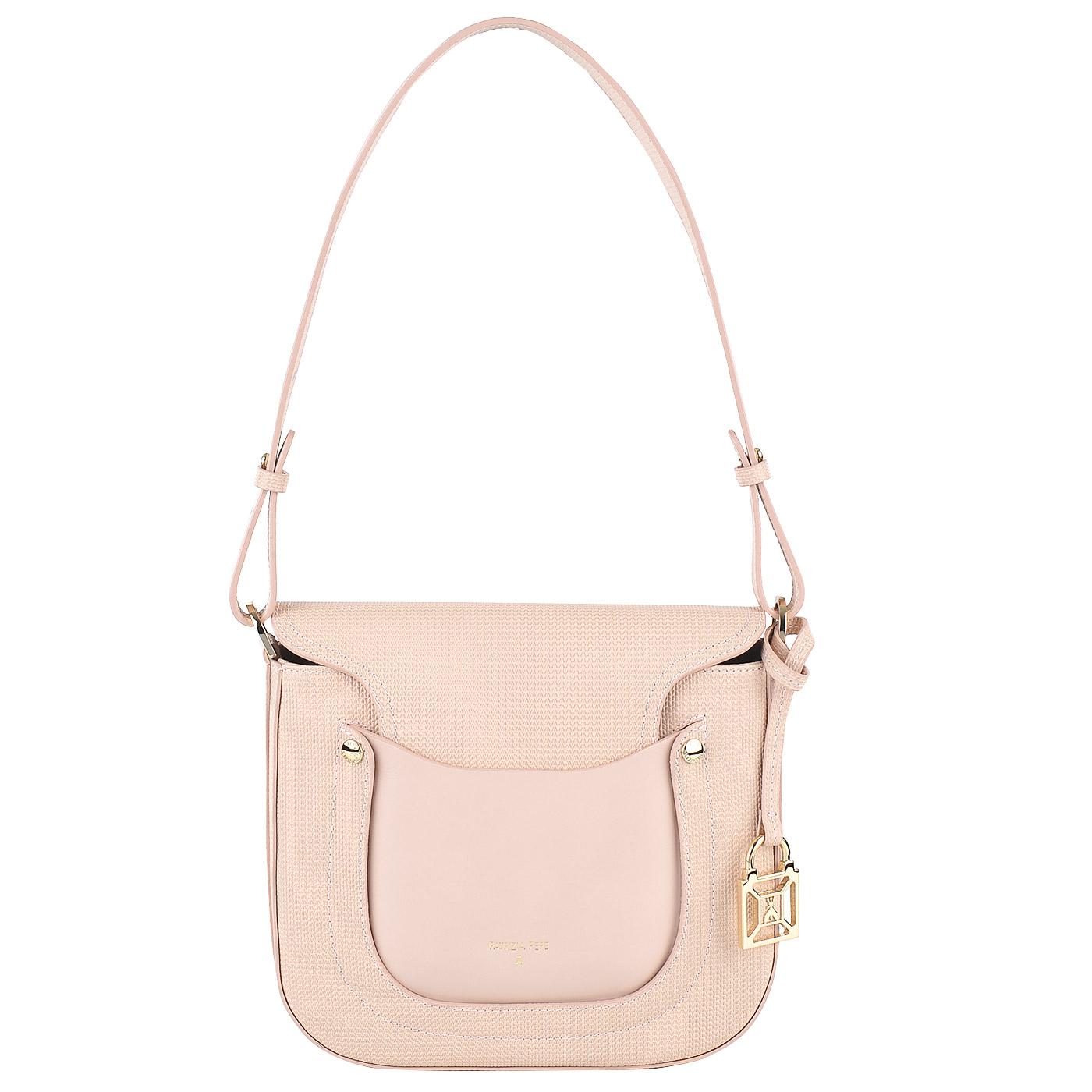 6364b0315bf7 Женская кожаная сумка через плечо Patrizia Pepe Game Pocket 2V6900 ...