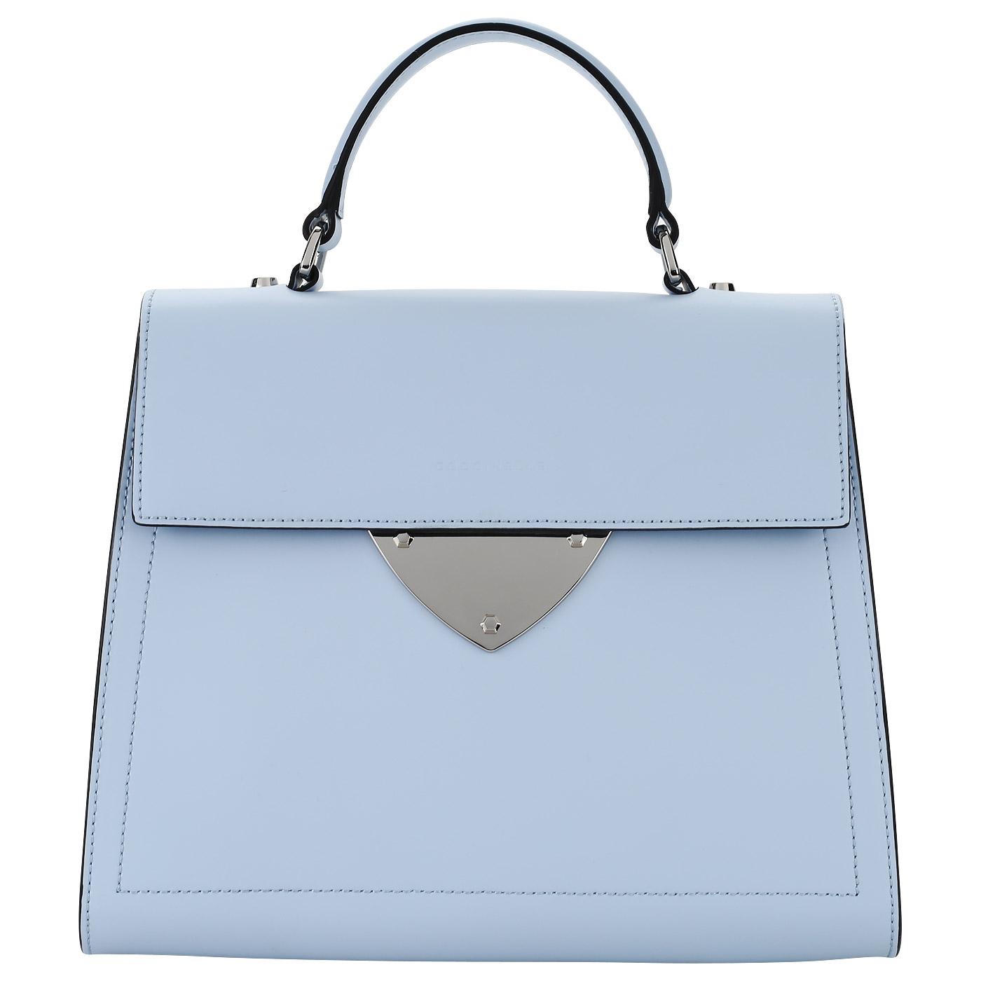 df198faa306b Женская сумка из голубой кожи Coccinelle B14 Design B06 18 03 ...