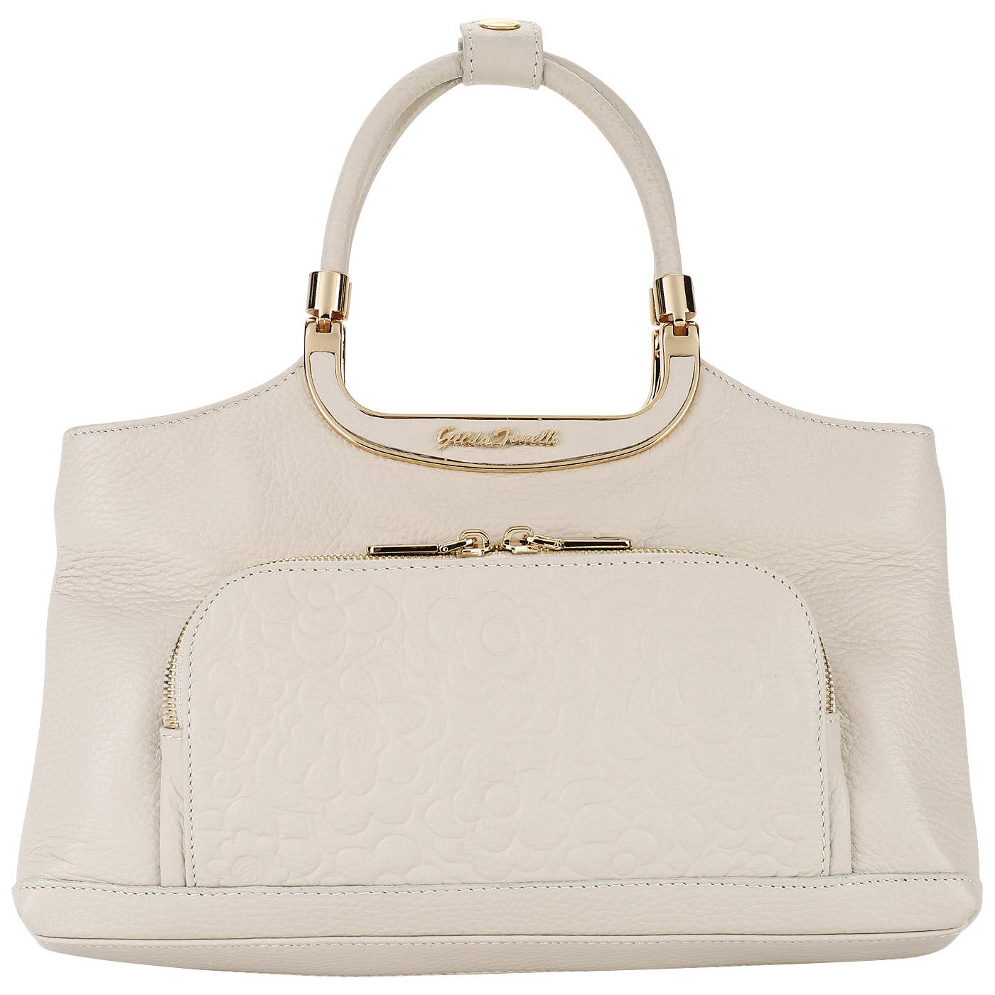 4e81b3896485 ... Аккуратная женская сумка из натуральной кожи Gilda Tonelli Adria  Camelli ...