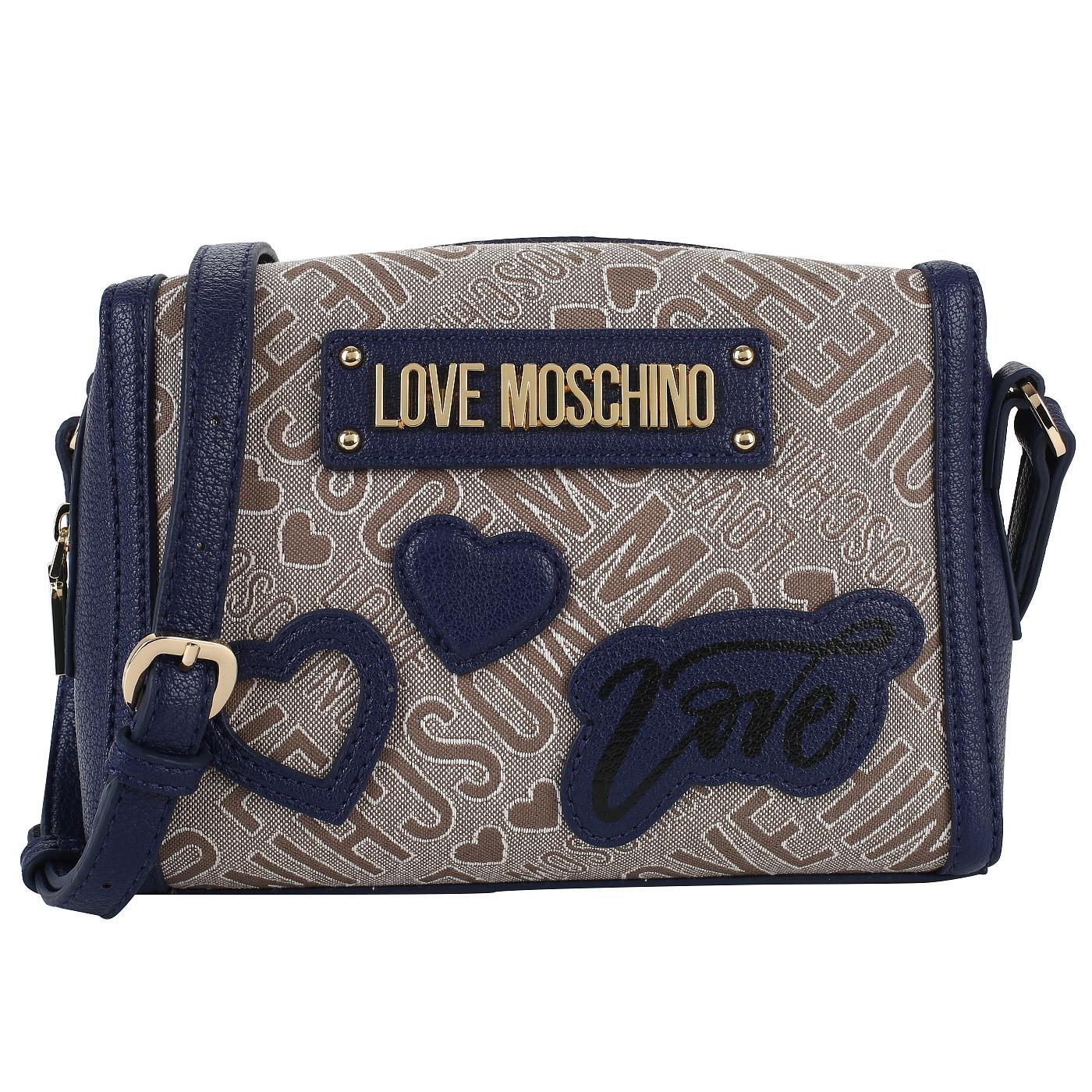 b1367691316b Сумочка Love Moschino Patches Jacquard