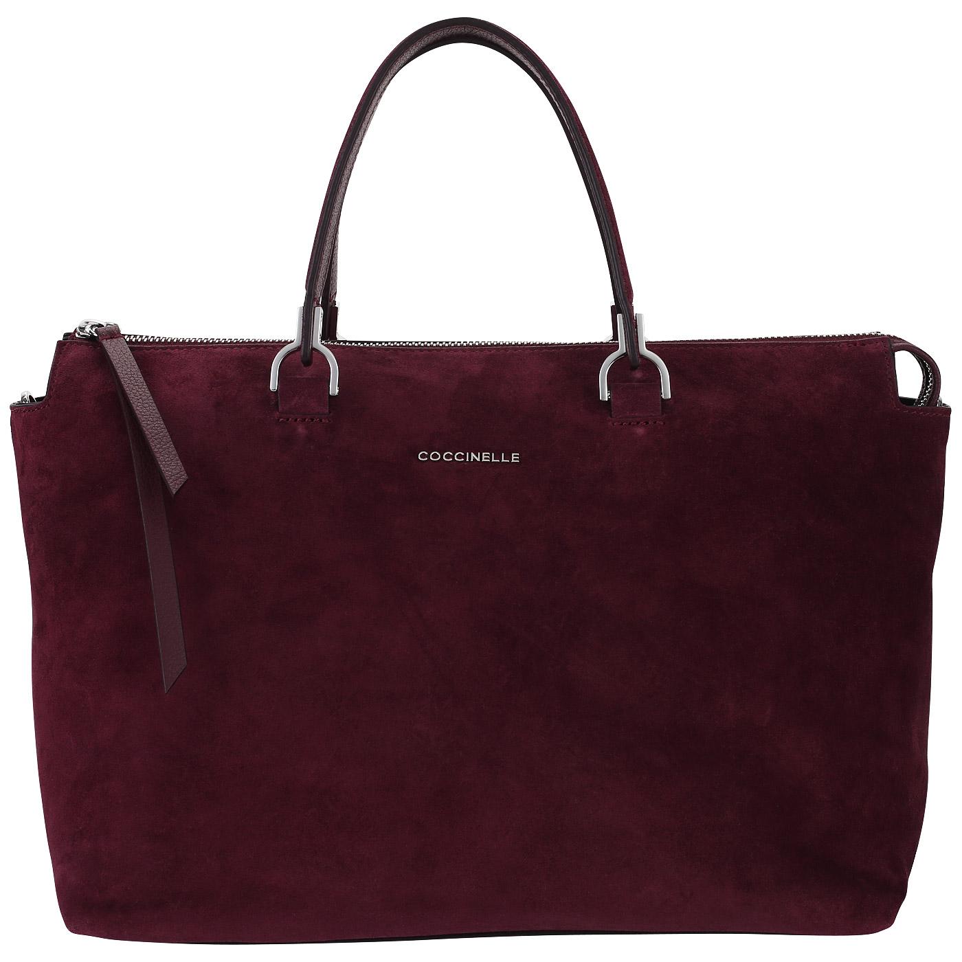 783d185cc9dd Вместительная сумка из замши Coccinelle Keyla suede Вместительная сумка из  замши Coccinelle Keyla suede ...