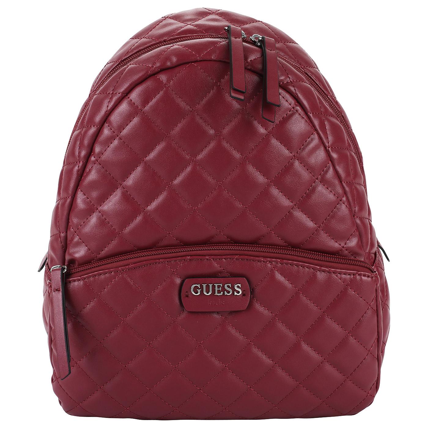 70d8fcd9186b Стеганый рюкзак Guess Kids J83Z08 W9CS0_rose - 2000557912021 розовый ...