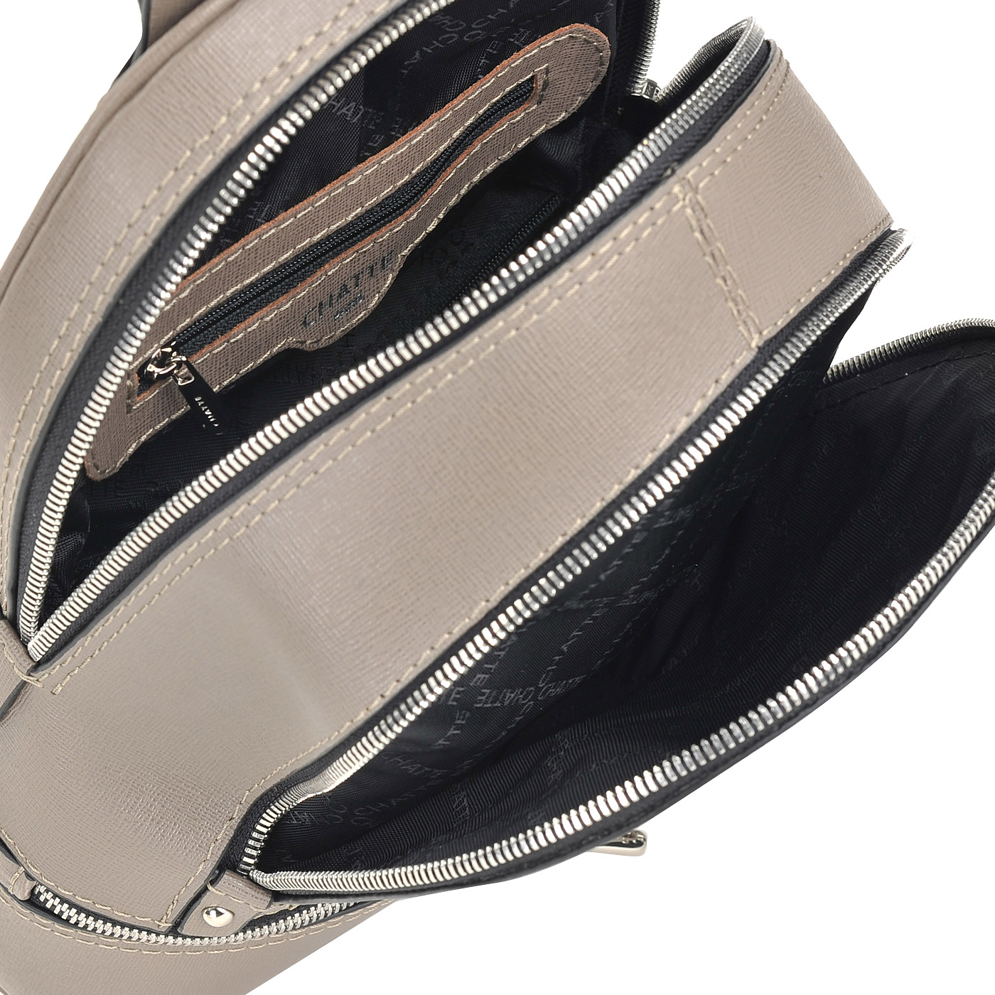 83f50c1e514d Женский рюкзак из сафьяновой кожи Chatte FT35190_grey ...