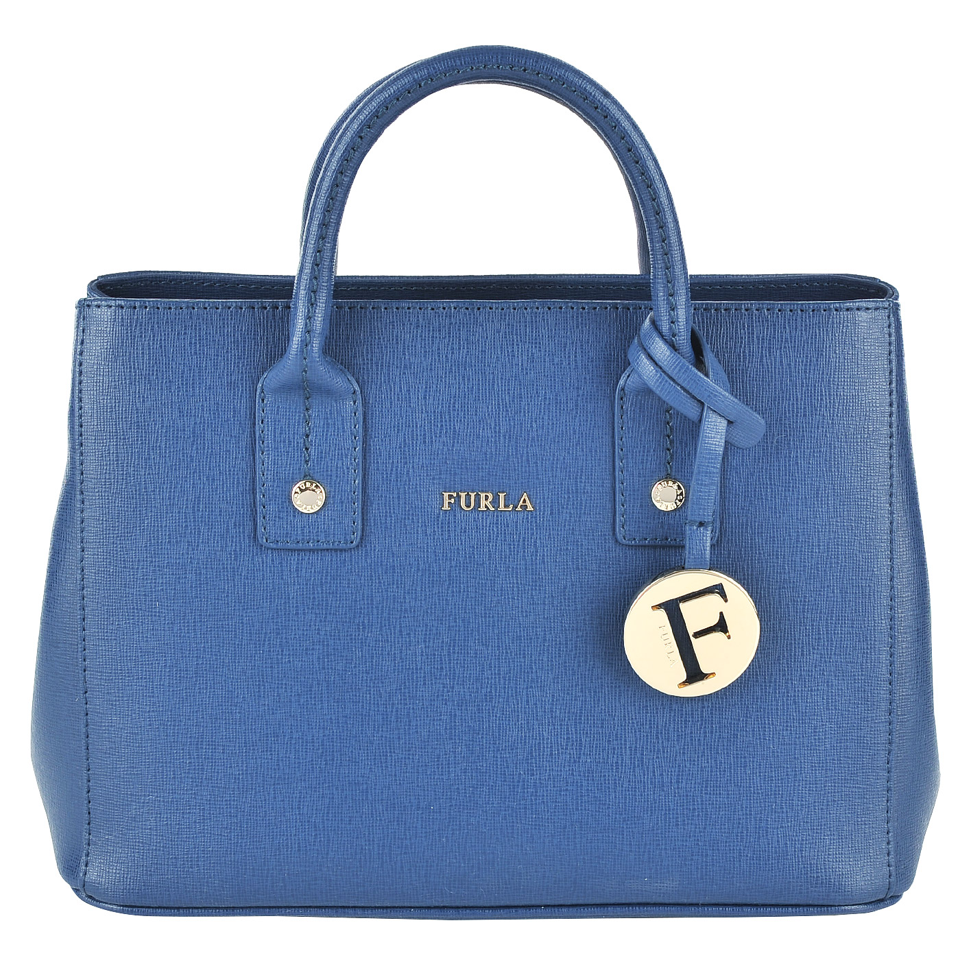 ff5f05f9862c Женская кожаная сумка Furla Linda BHR7_blu ginepro b - 2000557706958 ...