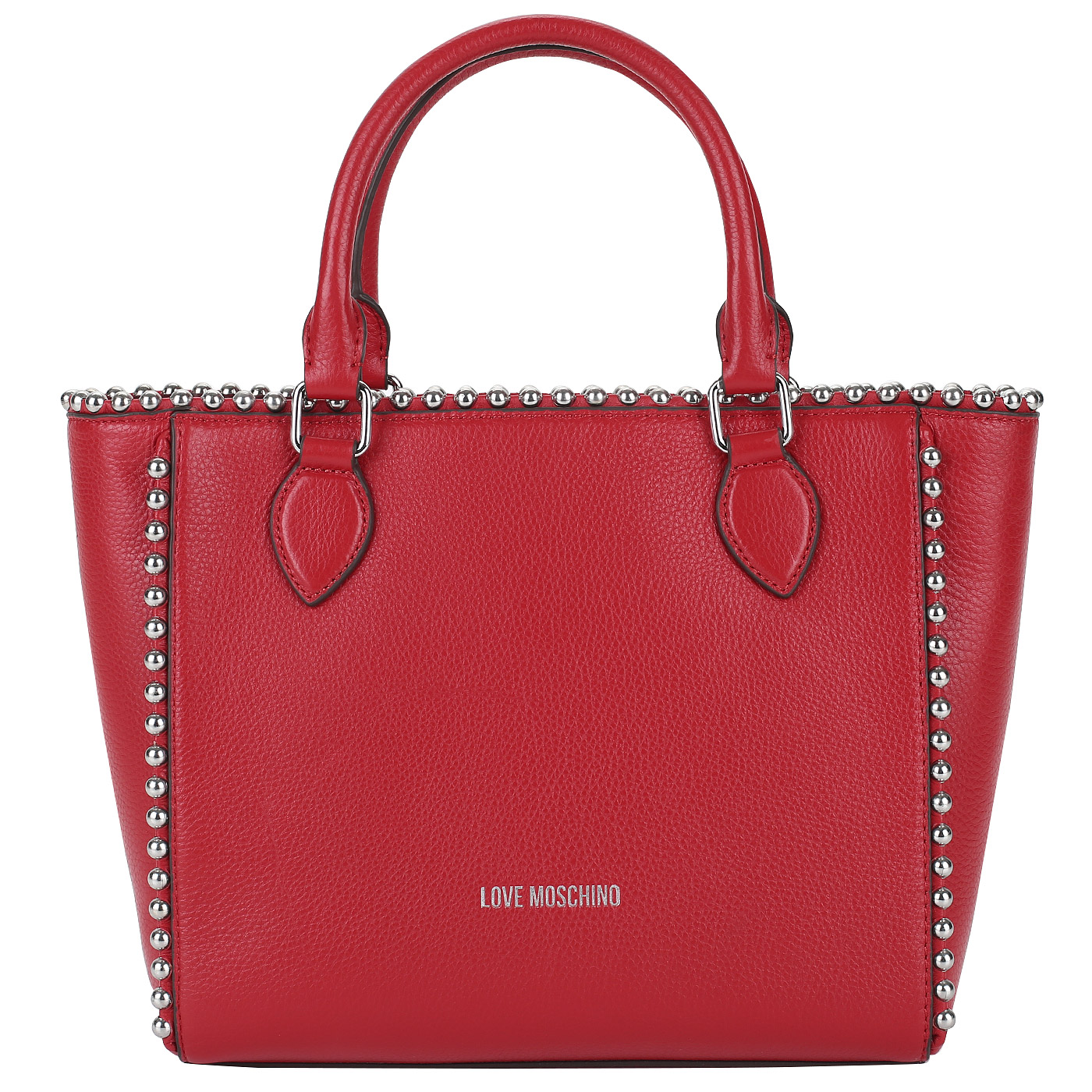 64951cee5ef3 Женская сумка из красной кожи Love Moschino Pallina JC4126PP15_500 ...