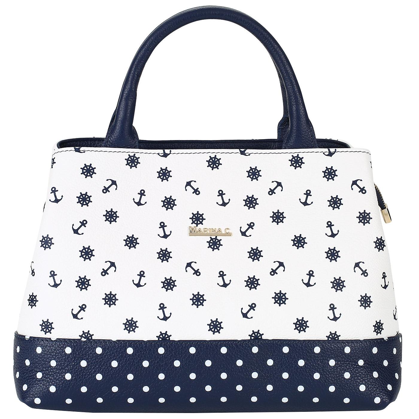 93d7e51abad5 Женская сумка из натуральной кожи Marina Creazioni Женская сумка из натуральной  кожи Marina Creazioni ...