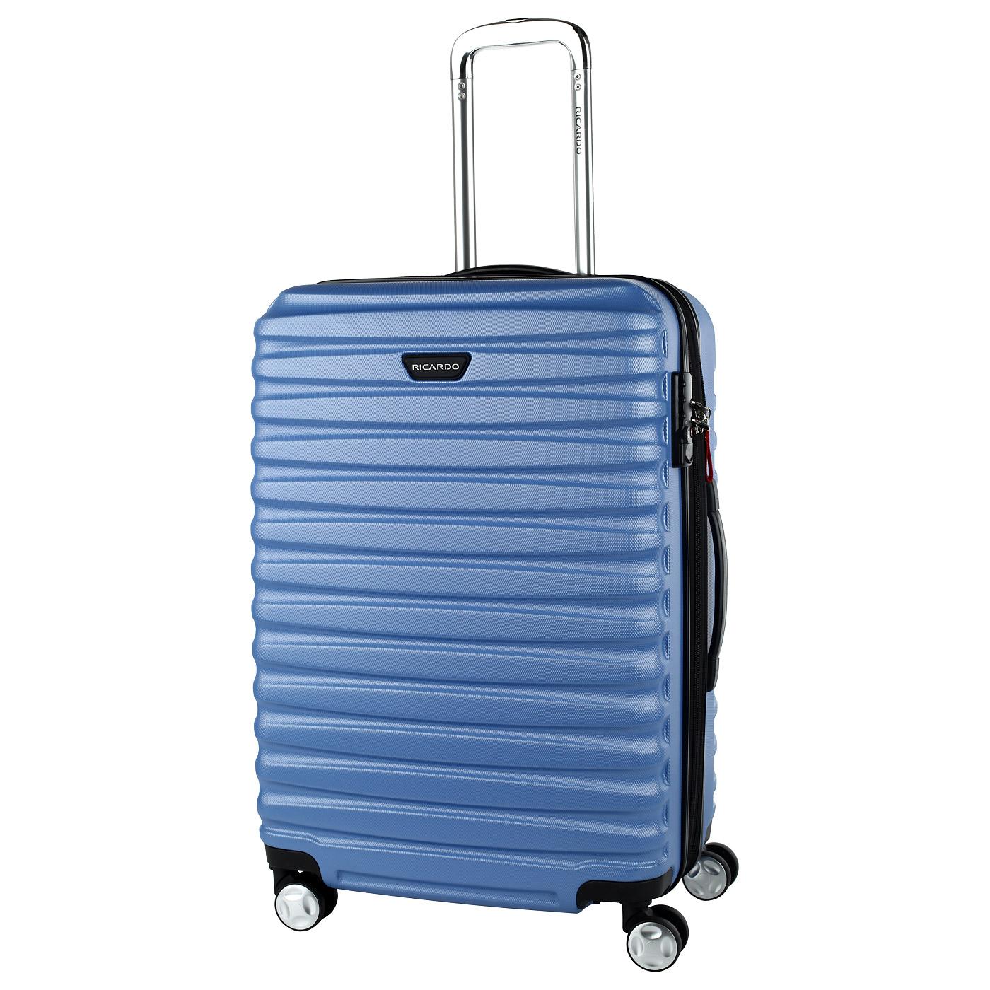 пластиковые итальянские чемоданы