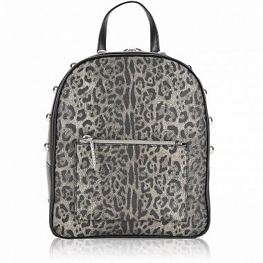 Серый рюкзак с узкими лямками
