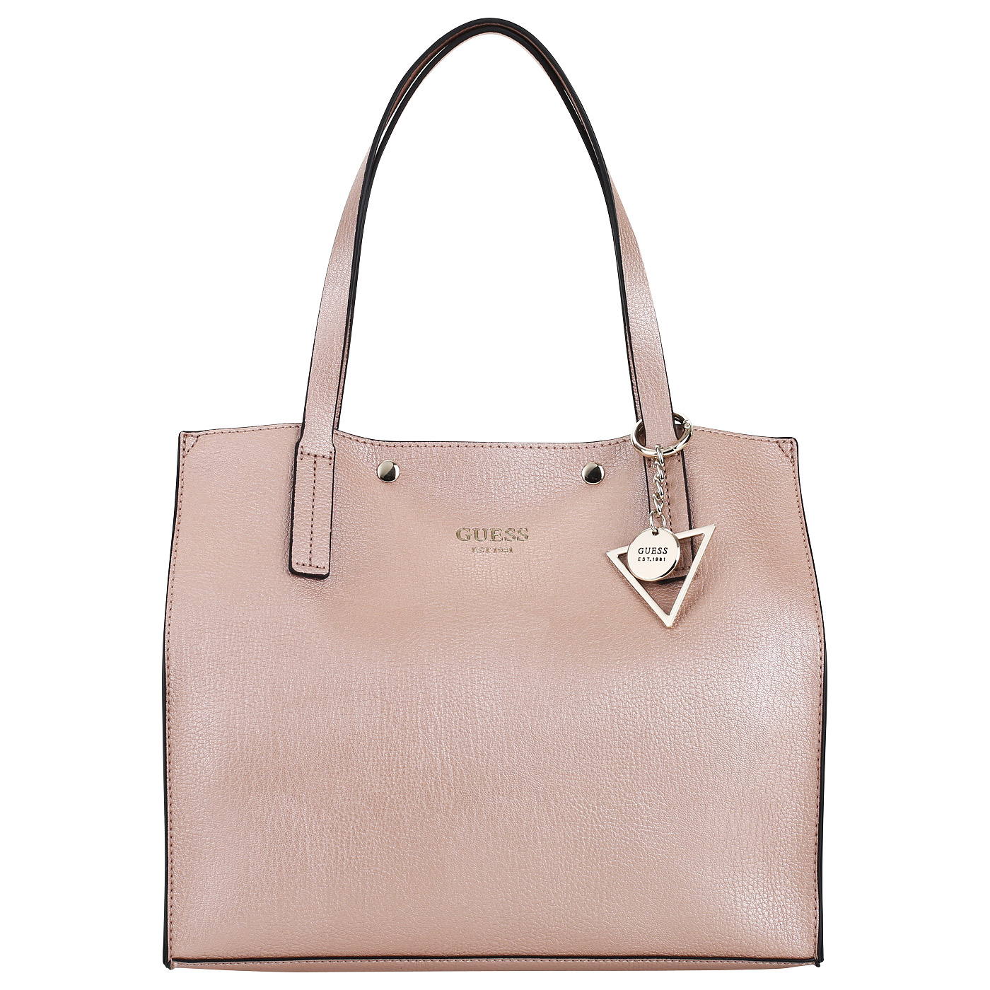 17def73cd02a Объемная сумка-шоппер Guess Kinley HWMF67 78230_rose gold ...