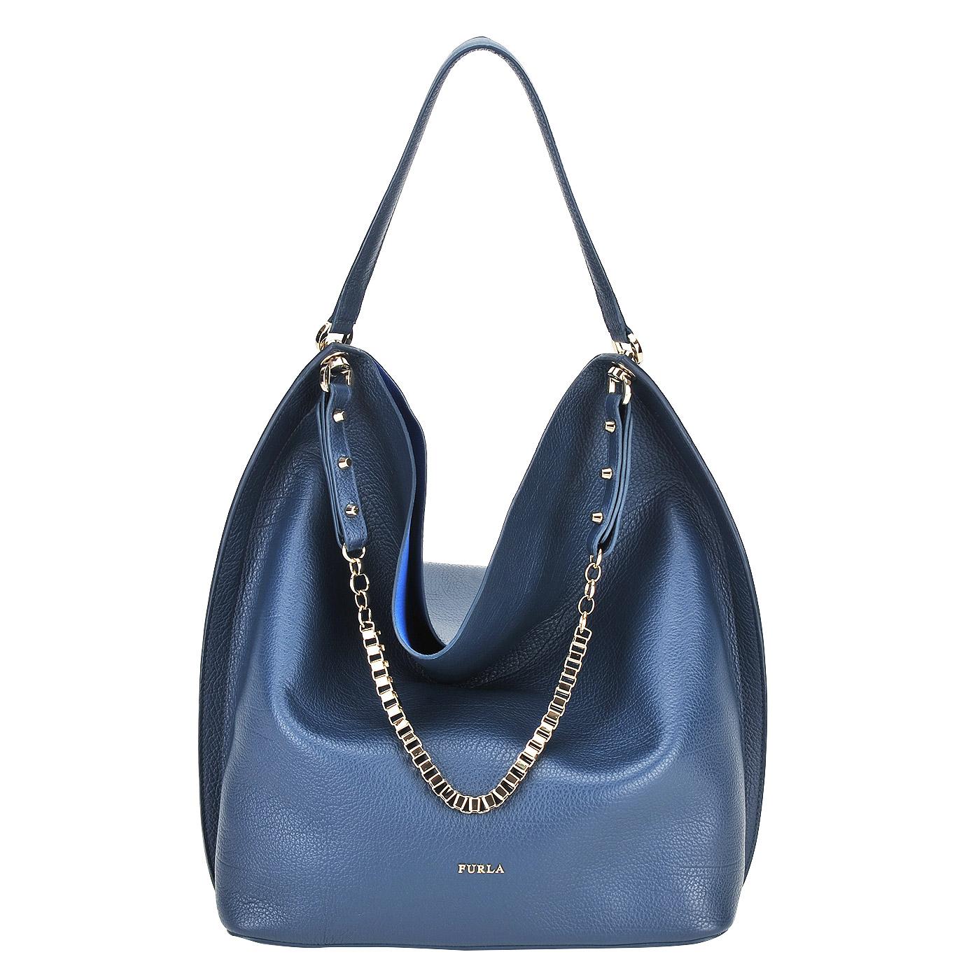 e79440bcb40b Сумка Furla Minerva BHW5_lapis - 2000557594685 синий натуральная ...