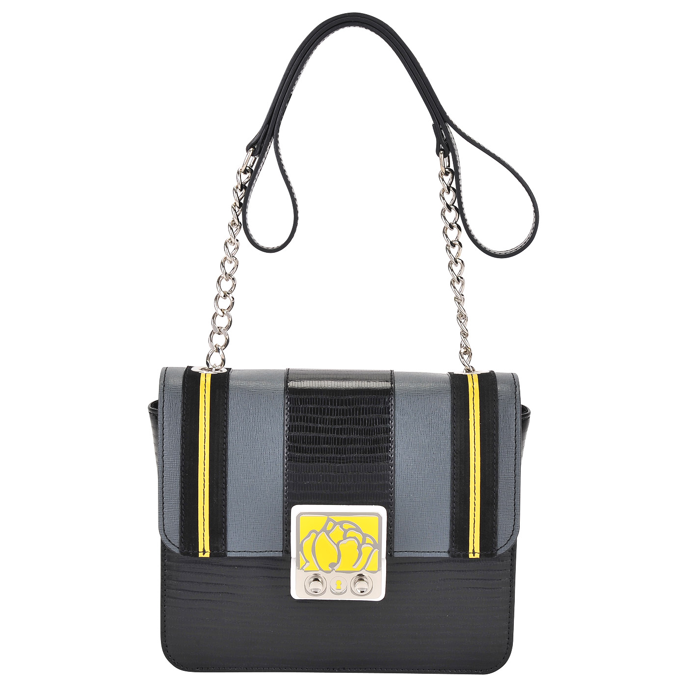 9b924c4cd95f Женская кожаная сумка через плечо Braccialini Carlotta Женская кожаная сумка  через плечо Braccialini Carlotta ...
