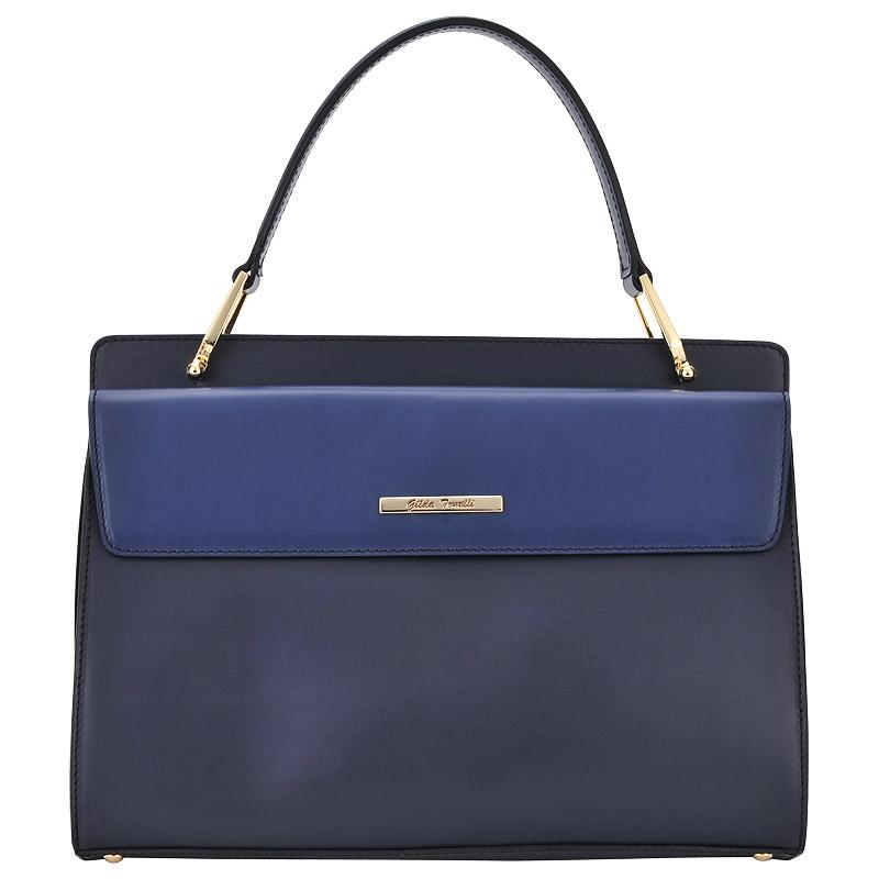 СумкаКлассические сумки<br>GildaTonelli, Lasa, сумка жен, н/к, т.син/син.<br>