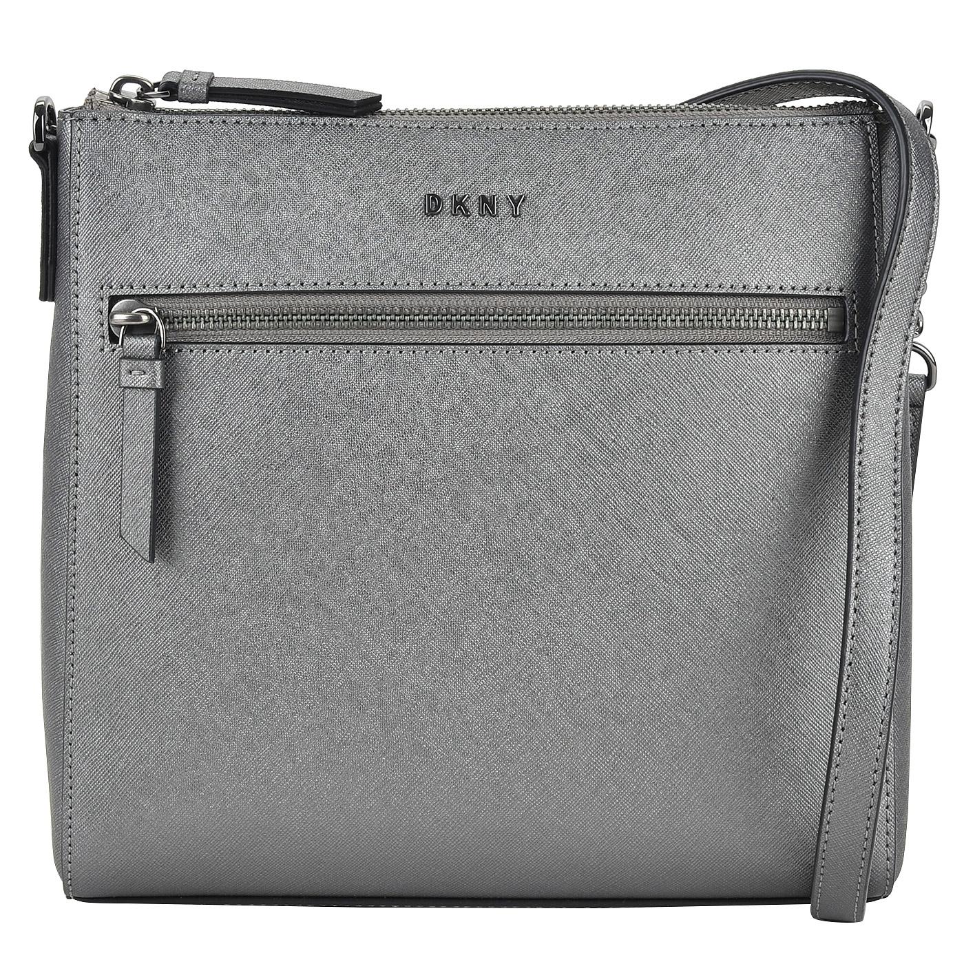 02f99d509559 Женская сумка кросс-боди из сафьяновой кожи DKNY Saffiano R74E1012 ...
