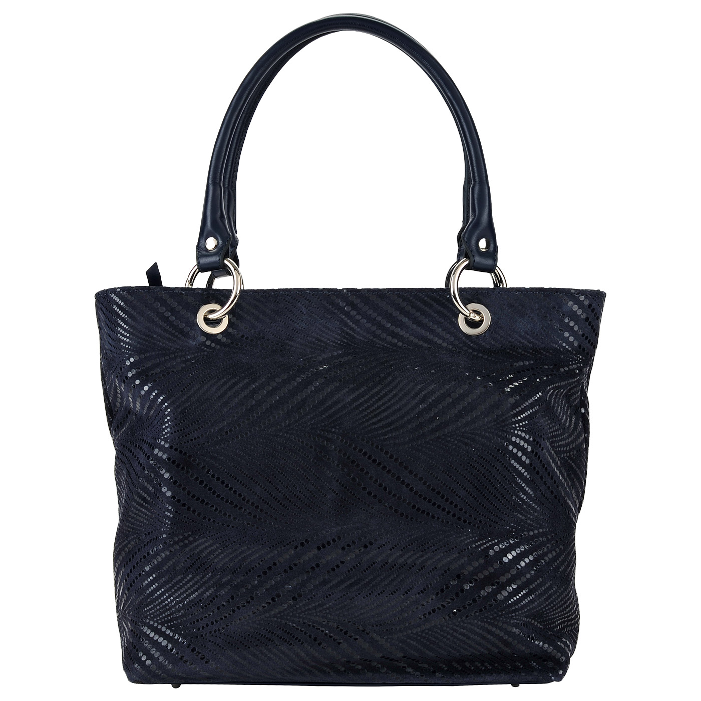 Вместительная женская сумка из натуральной замши Chatte FA100117 blu ... d00a0e3d55a
