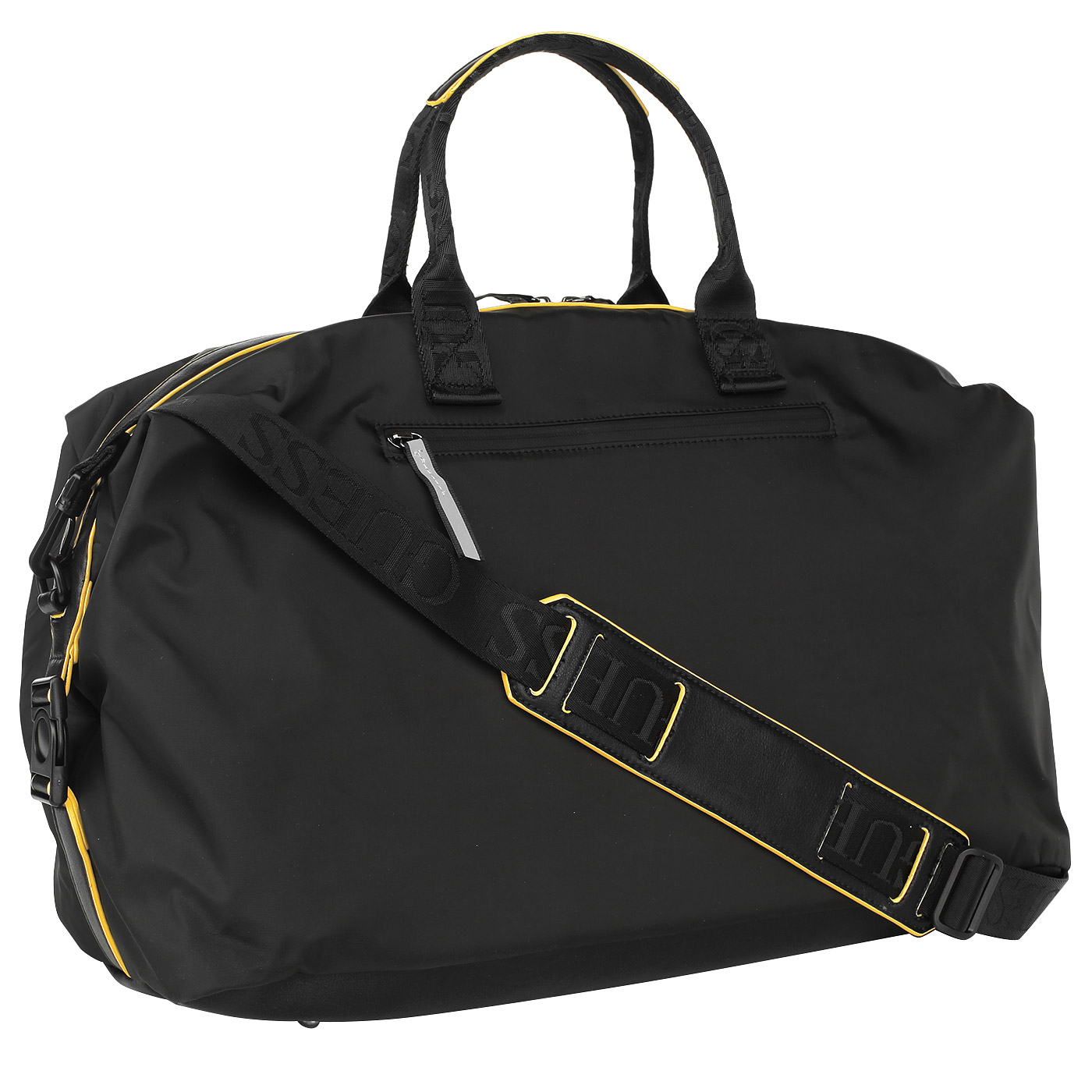 db7fda57dcbb Мужская дорожная сумка с плечевым ремнем Guess TM6117 NYL73 black ...