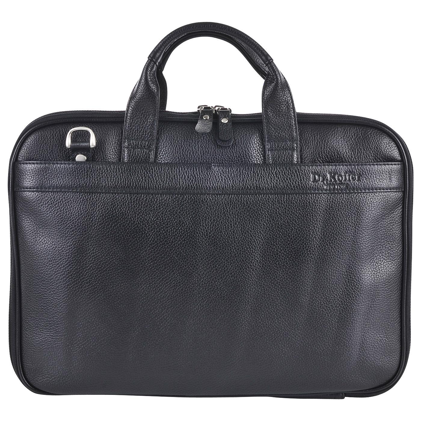 Сумка для ноутбука Dr. Koffer P402253-220-04 - 2000557680210 черный  натуральная кожа 38 x 26 Цена 12780 руб. купить в интернет-магазине  PanChemodan.ru 41b818dfde0
