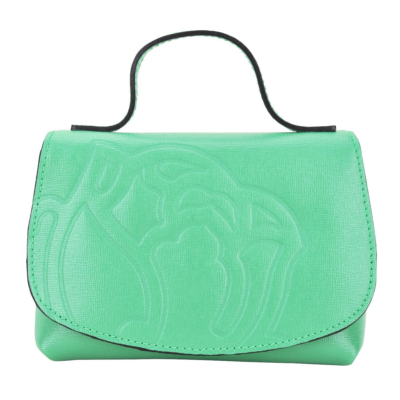 bb1202568691 Женская кожаная сумка Braccialini Ninfea B10691_verde ...