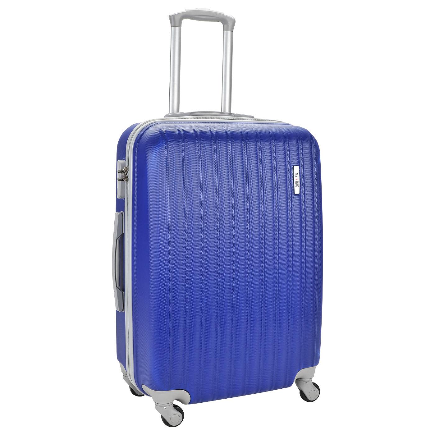 Чемодан на колесах MyxBag MXB-light blue-M-i - 2000557764675 синий ... 152cb560e7d