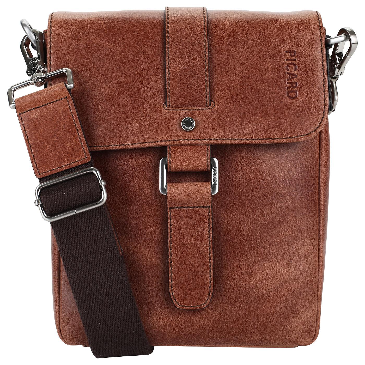 63e099982e49 Мужская сумка-планшет из кожи Picard Buddy 4543 51B_cognac ...