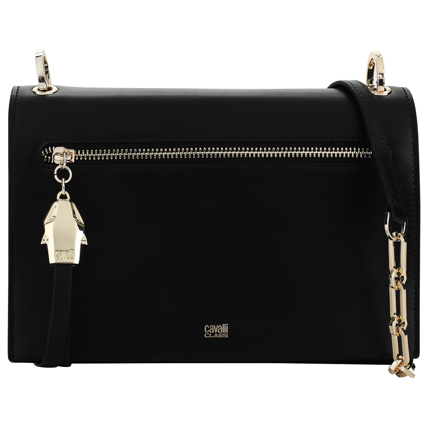 2ac38b116670 Женская сумочка черного цвета Cavalli Class Diane C81PWCDP0012_black ...