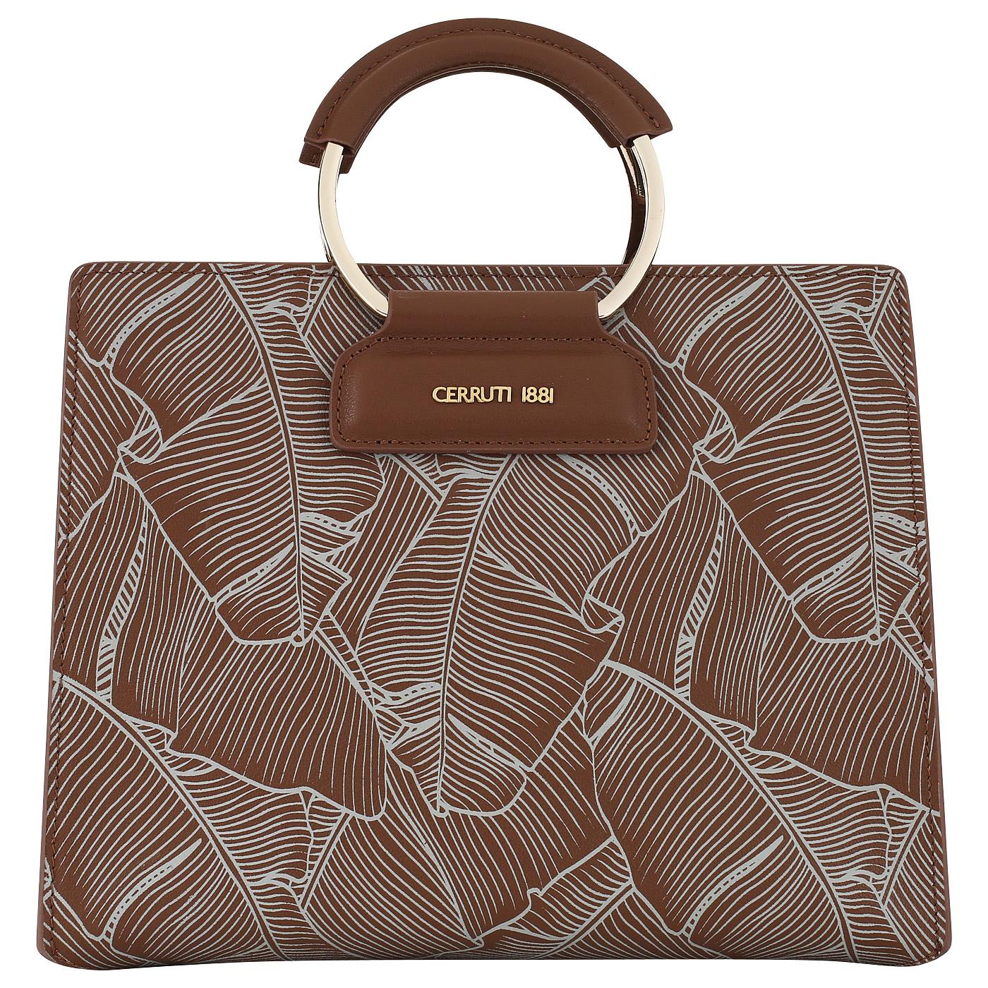 446852a330eb Женская сумка с круглыми ручками Cerruti 1881 Flora CEBA02881P_tan ...