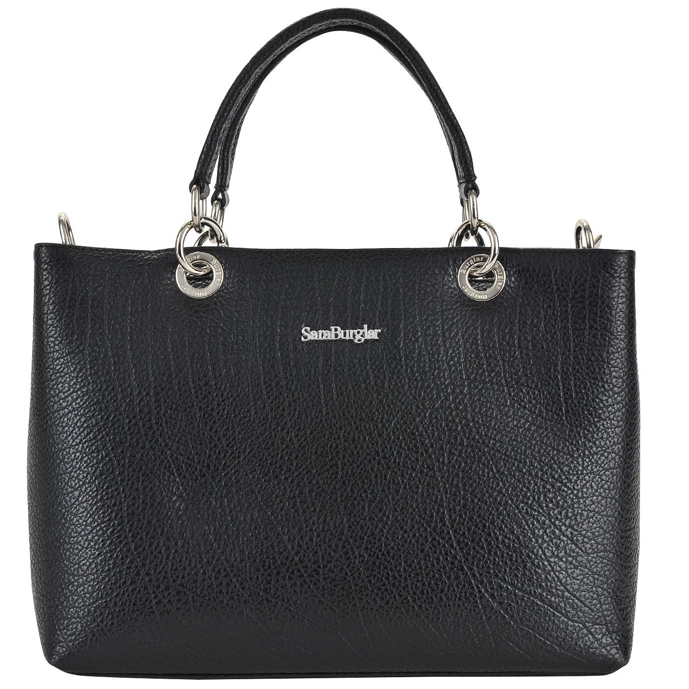 6cca3a9c1a87 ... Женская кожаная сумка с короткими ручками Sara Burglar New Cherie baby  ...