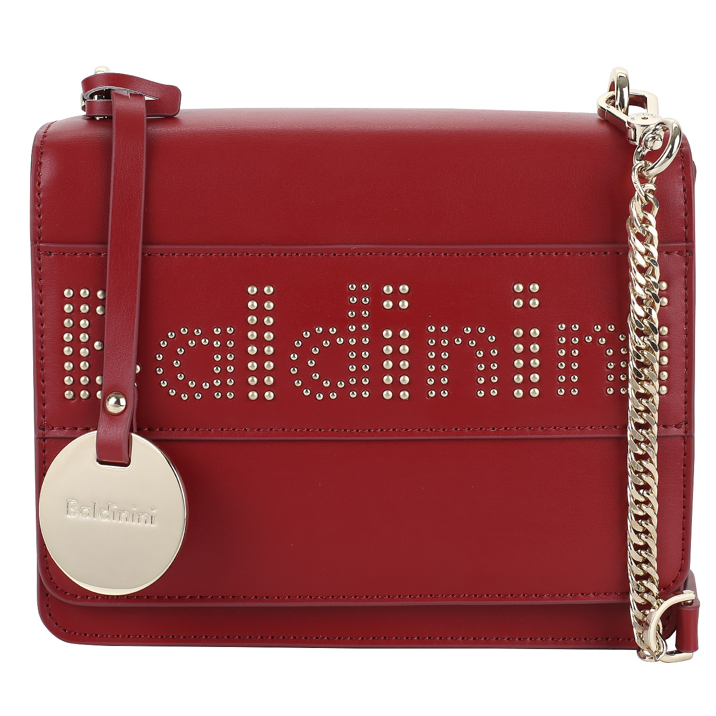 2672ee9b0a44 Красная сумочка Baldinini Clara G83PWG280012_red - 2000557864757 ...