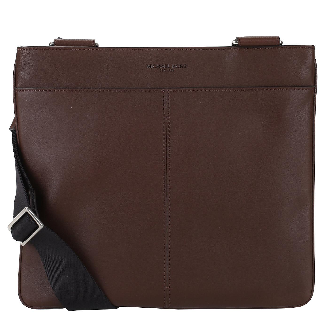 bbb0f9b8687a Коричневая мужская сумка-планшет Michael Kors Men Odin 33S8SOSC2L ...