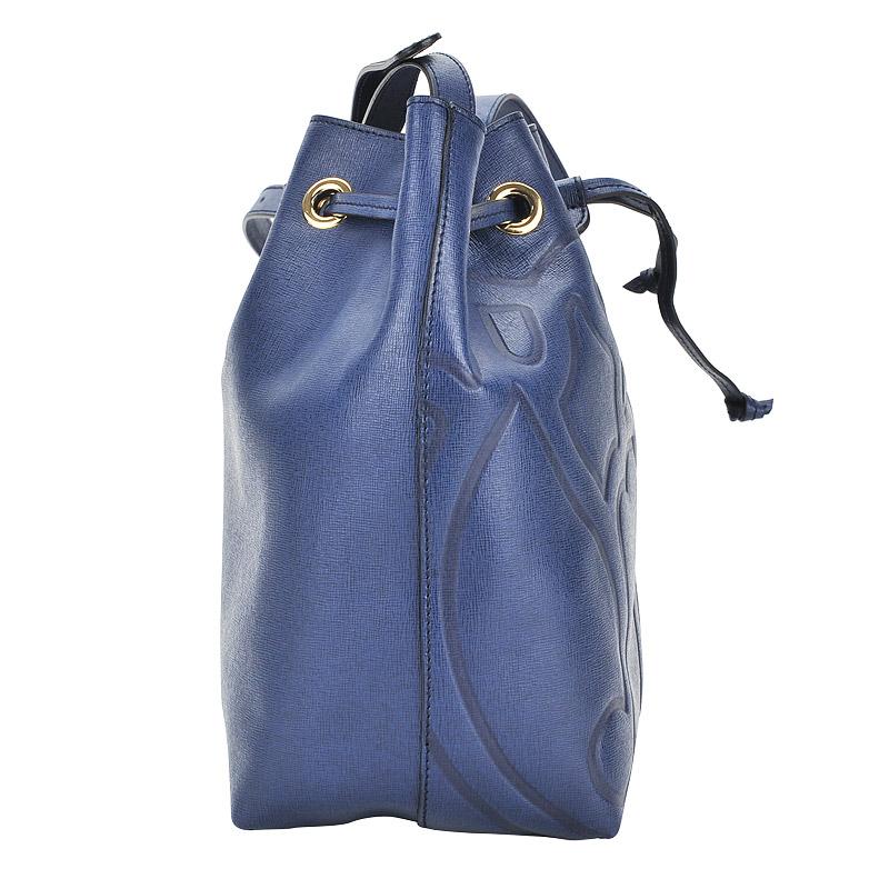 f62f9b826a2c Женская кожаная сумка Braccialini Ninfea B10413_blu - 2000557570276 ...