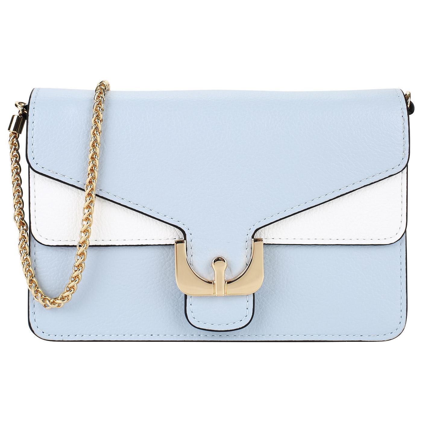faacc5c4ed52 ... Женская кожаная сумочка со съемной цепочкой Coccinelle Ambrine soft ...