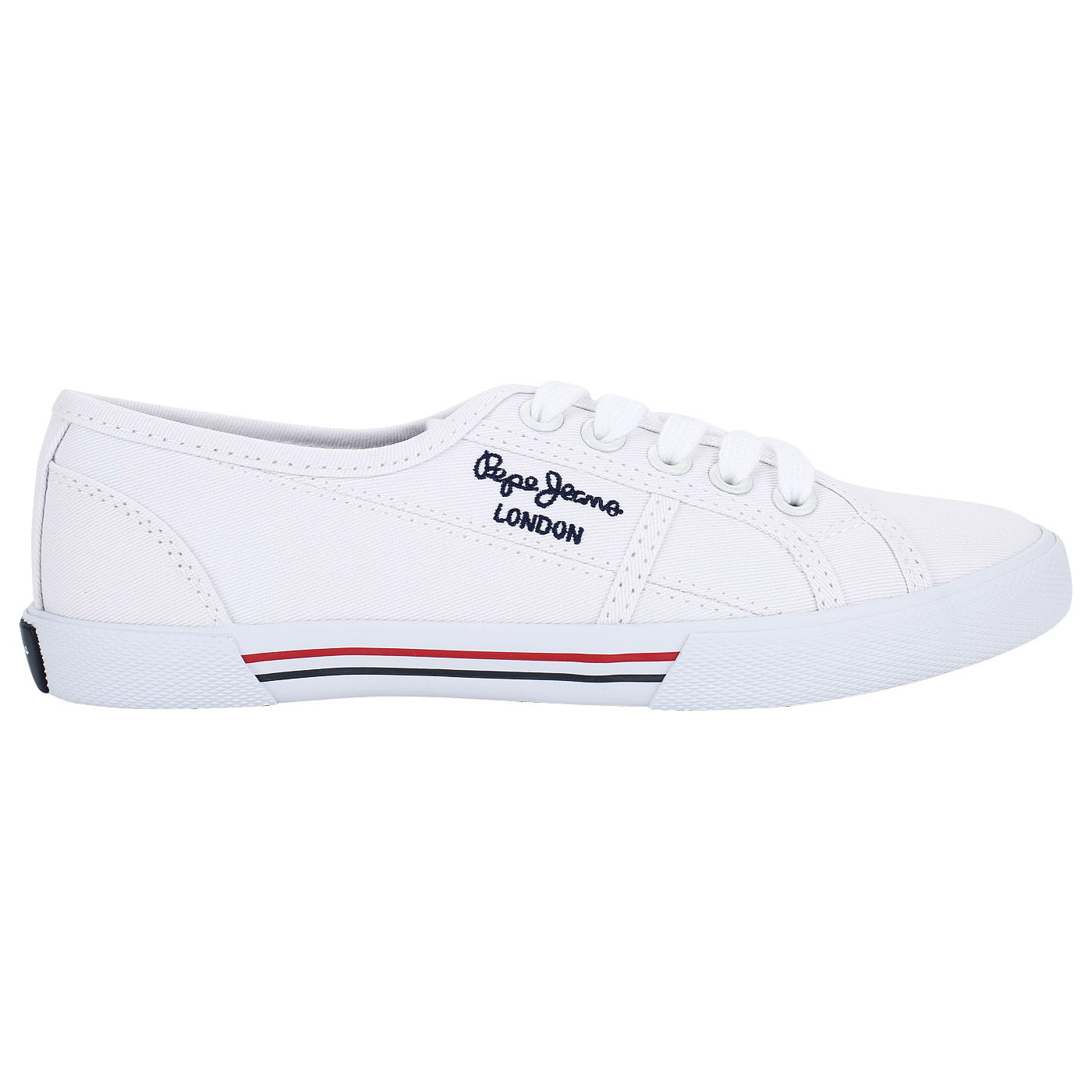 287fd694 Белые женские кеды Pepe Jeans London Aberlady PLS30500_white*36-i ...