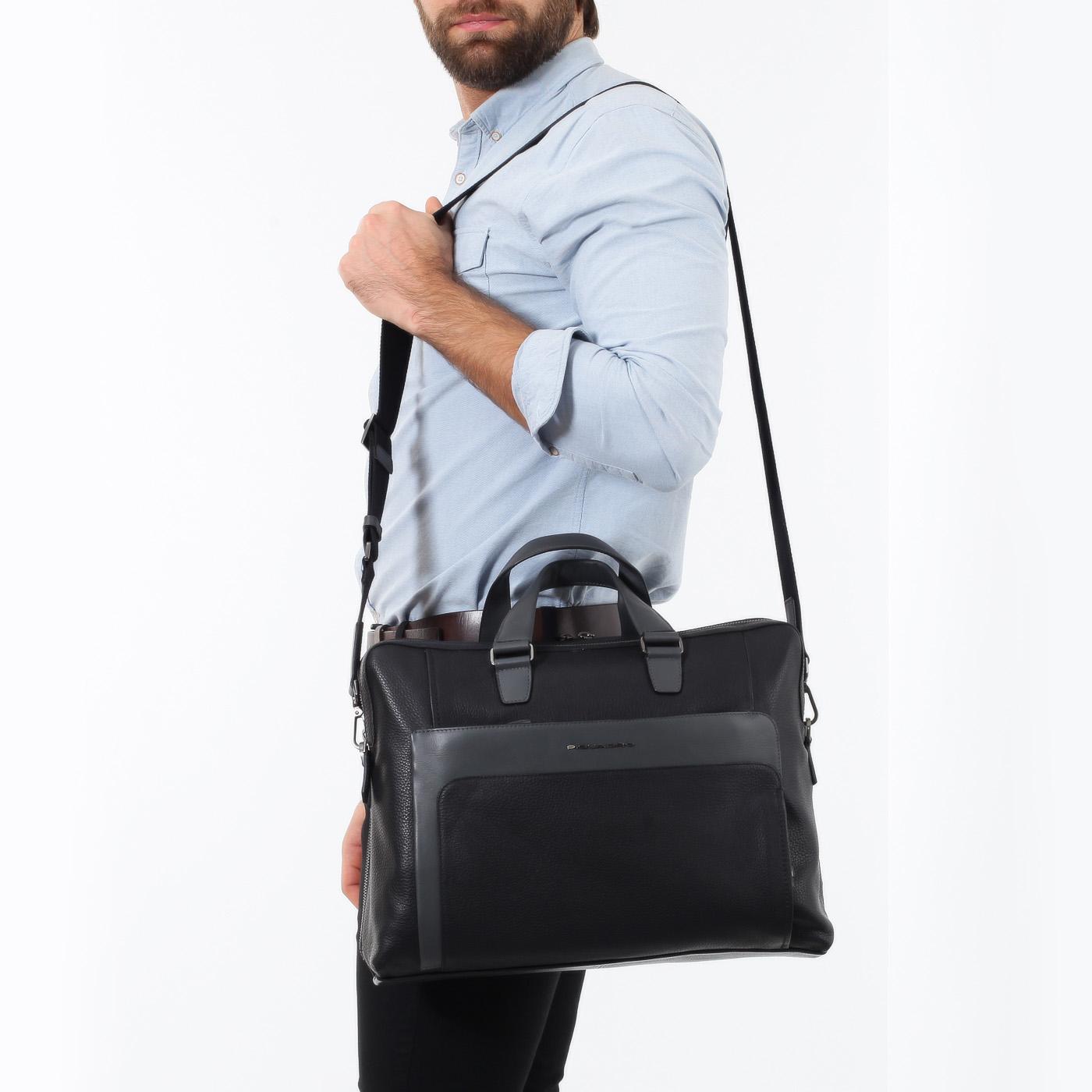 33b1341d7146 Деловая сумка с двумя отделами Piquadro Feels CA3347S97/N ...