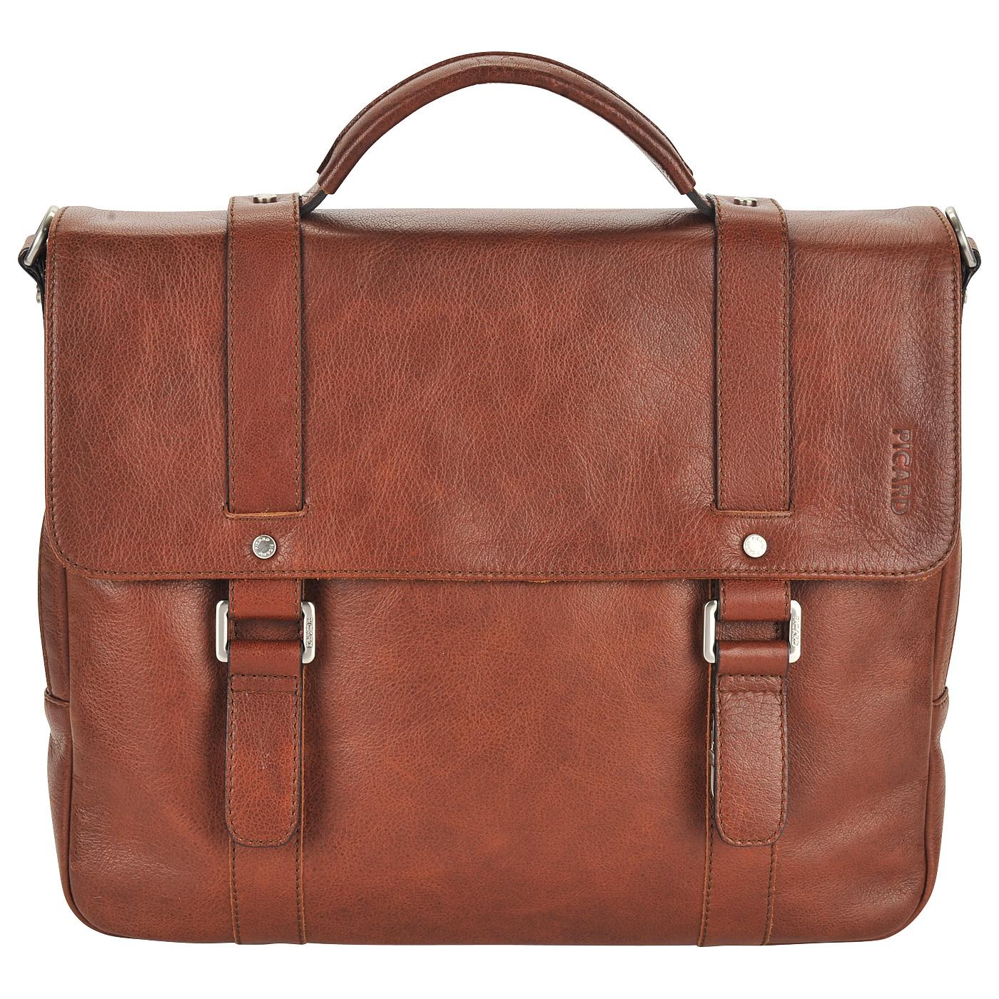 c9d3b73b28aa Мужской кожаный портфель коричневого цвета Picard Buddy Мужской кожаный  портфель коричневого цвета Picard Buddy ...