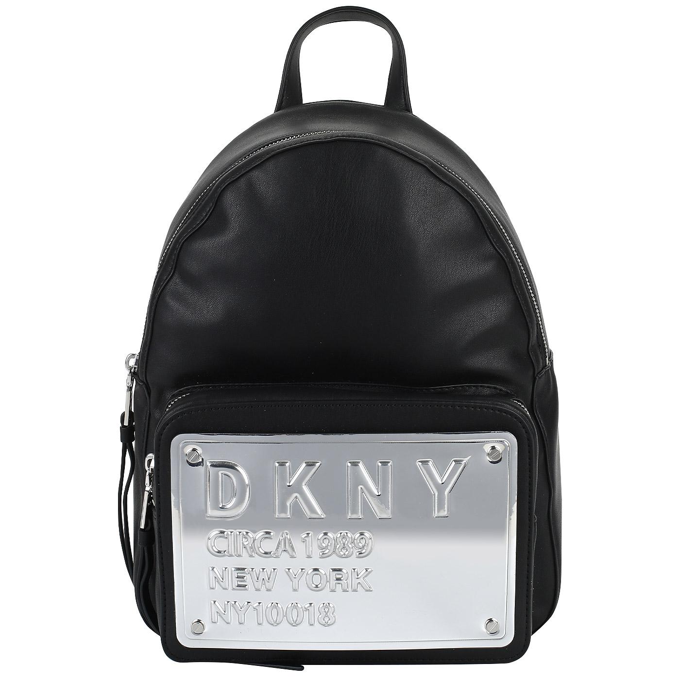 7ccc41926d39 Рюкзак с декором DKNY 10018 R83KY632-BSV - 2000557943292 черный ...