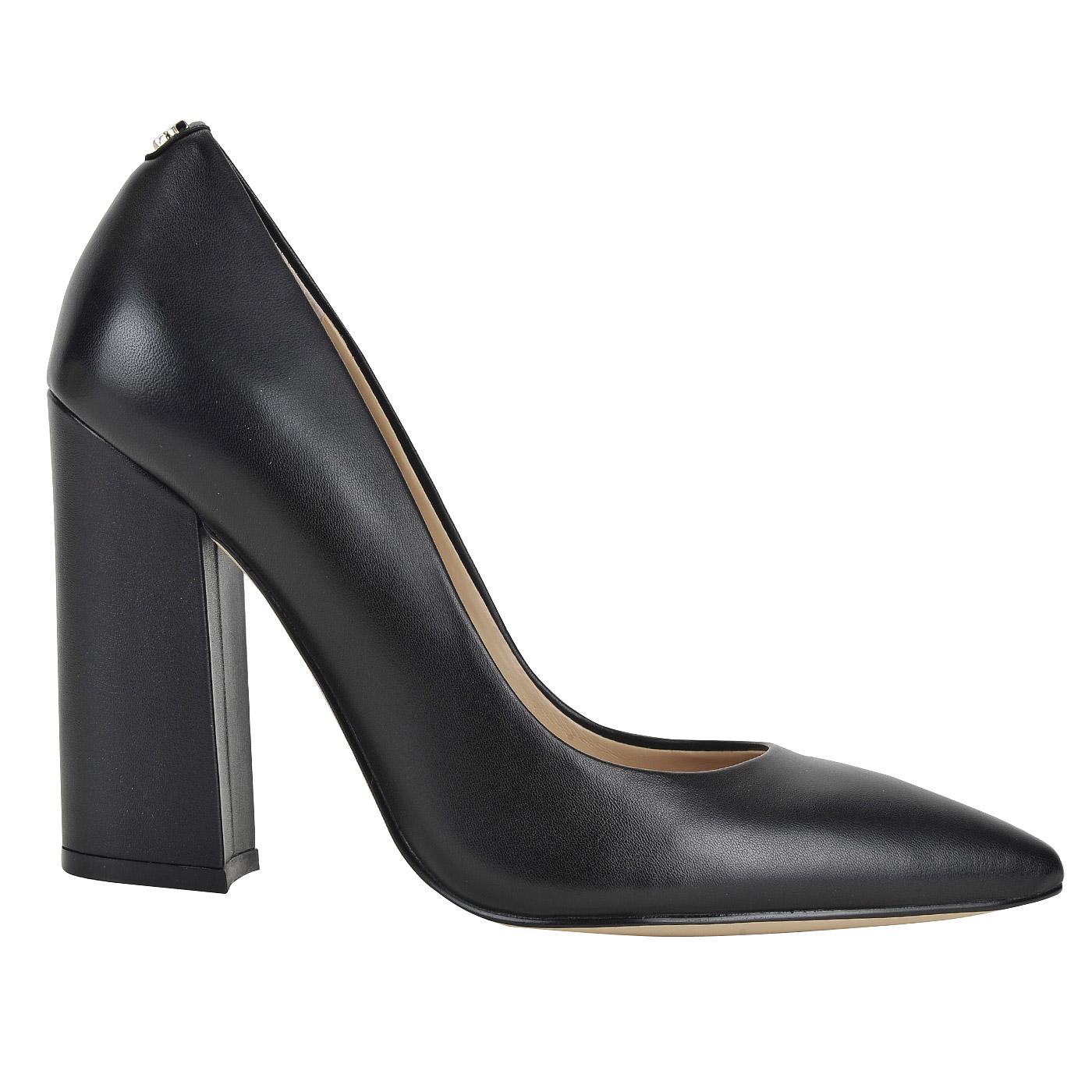 7beffb2d1126 Женские кожаные туфли на устойчивом каблуке Guess Ridley3